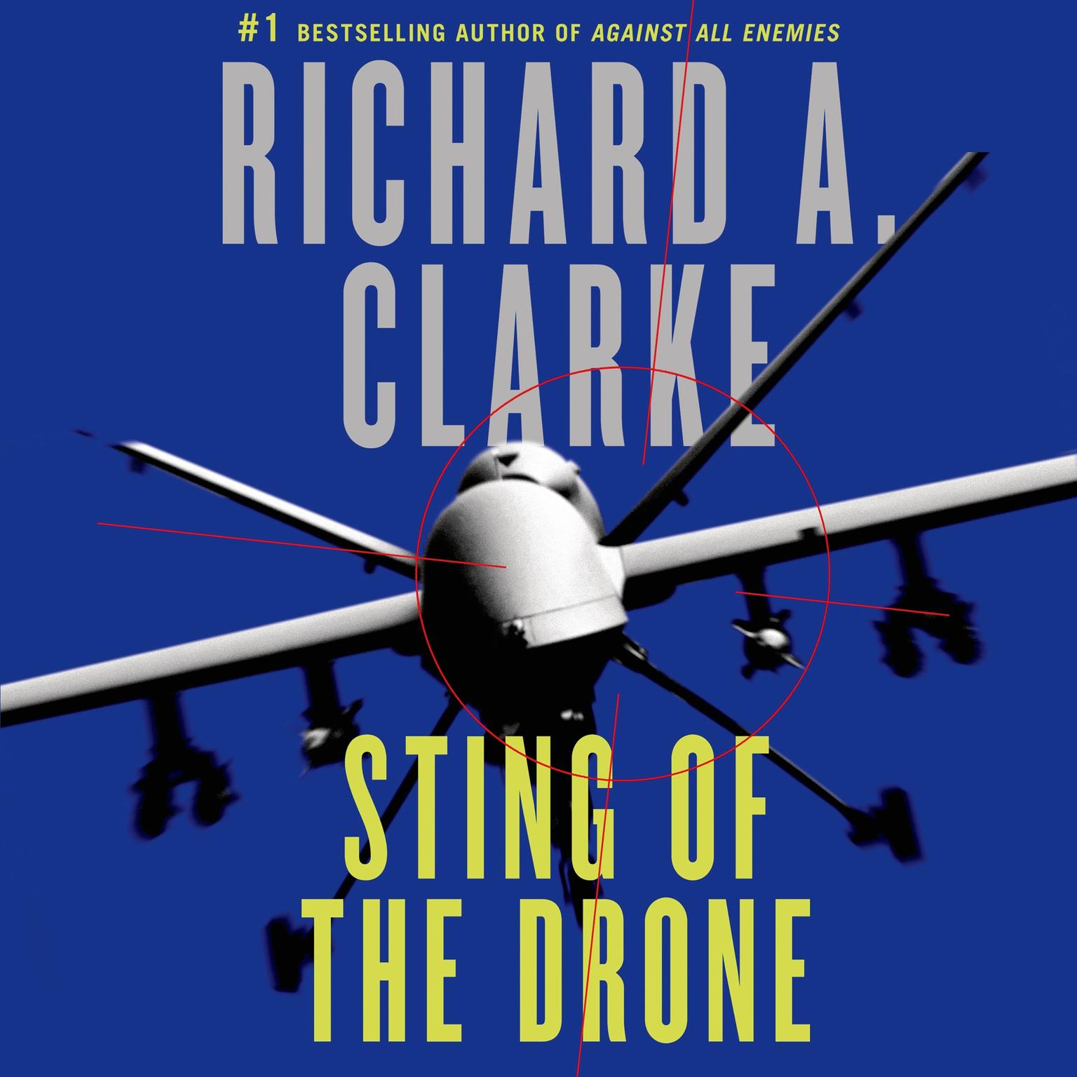 Printable Sting of the Drone: A Novel Audiobook Cover Art