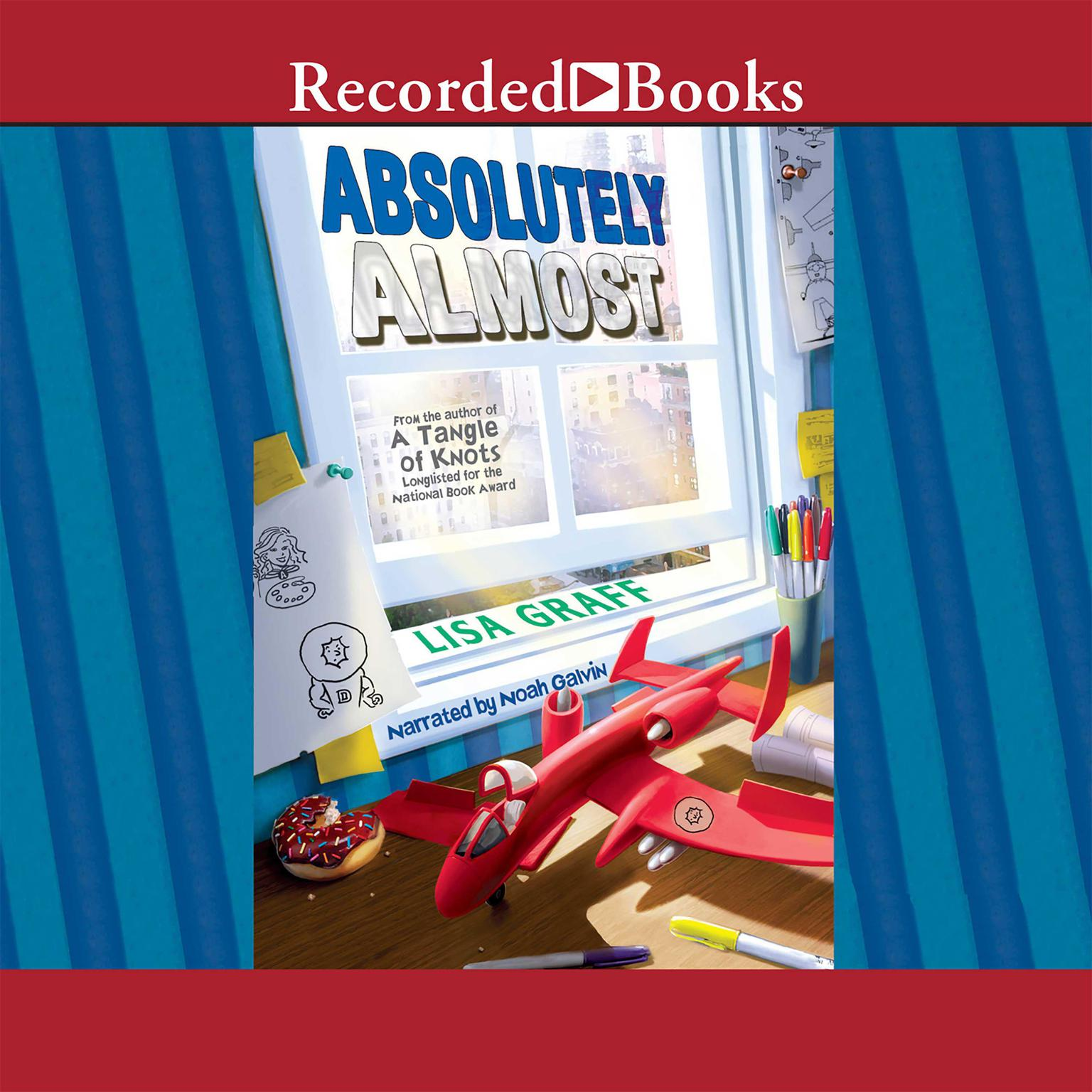 Printable Absolutely Almost Audiobook Cover Art