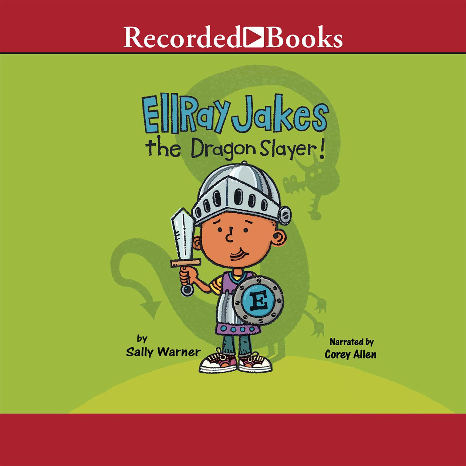 Printable EllRay Jakes the Dragon Slayer! Audiobook Cover Art