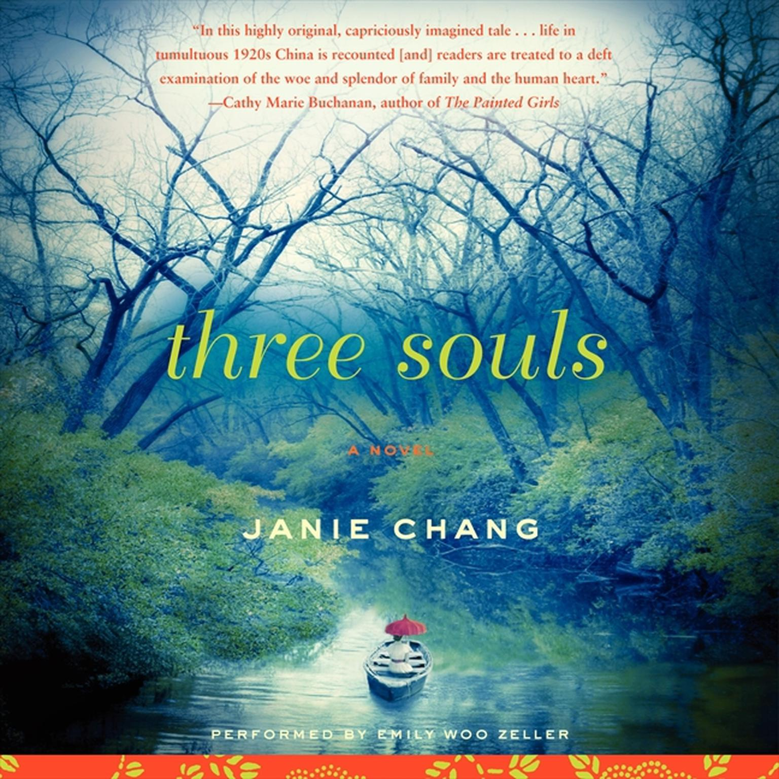 Printable Three Souls: A Novel Audiobook Cover Art