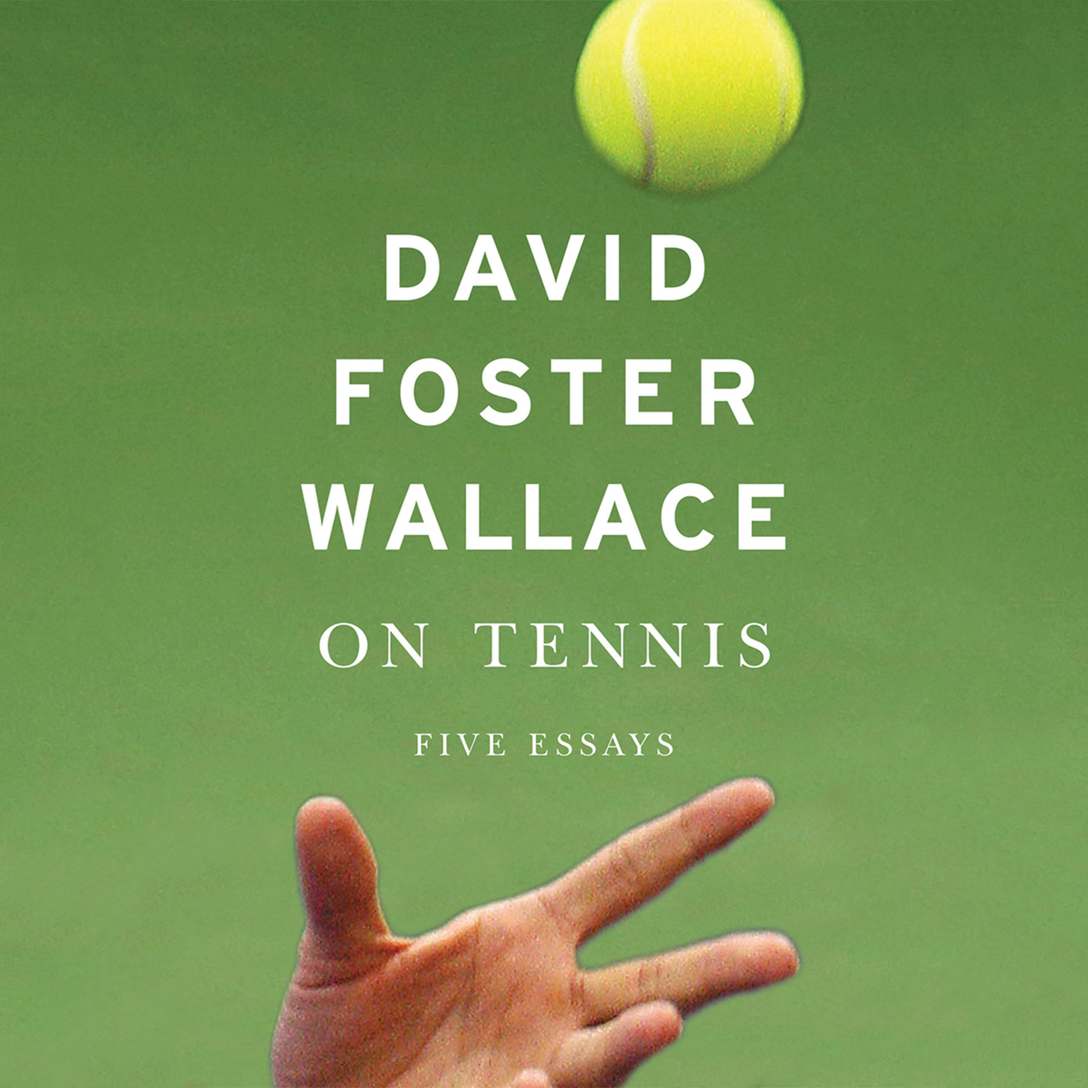 Printable On Tennis: Five Essays Audiobook Cover Art