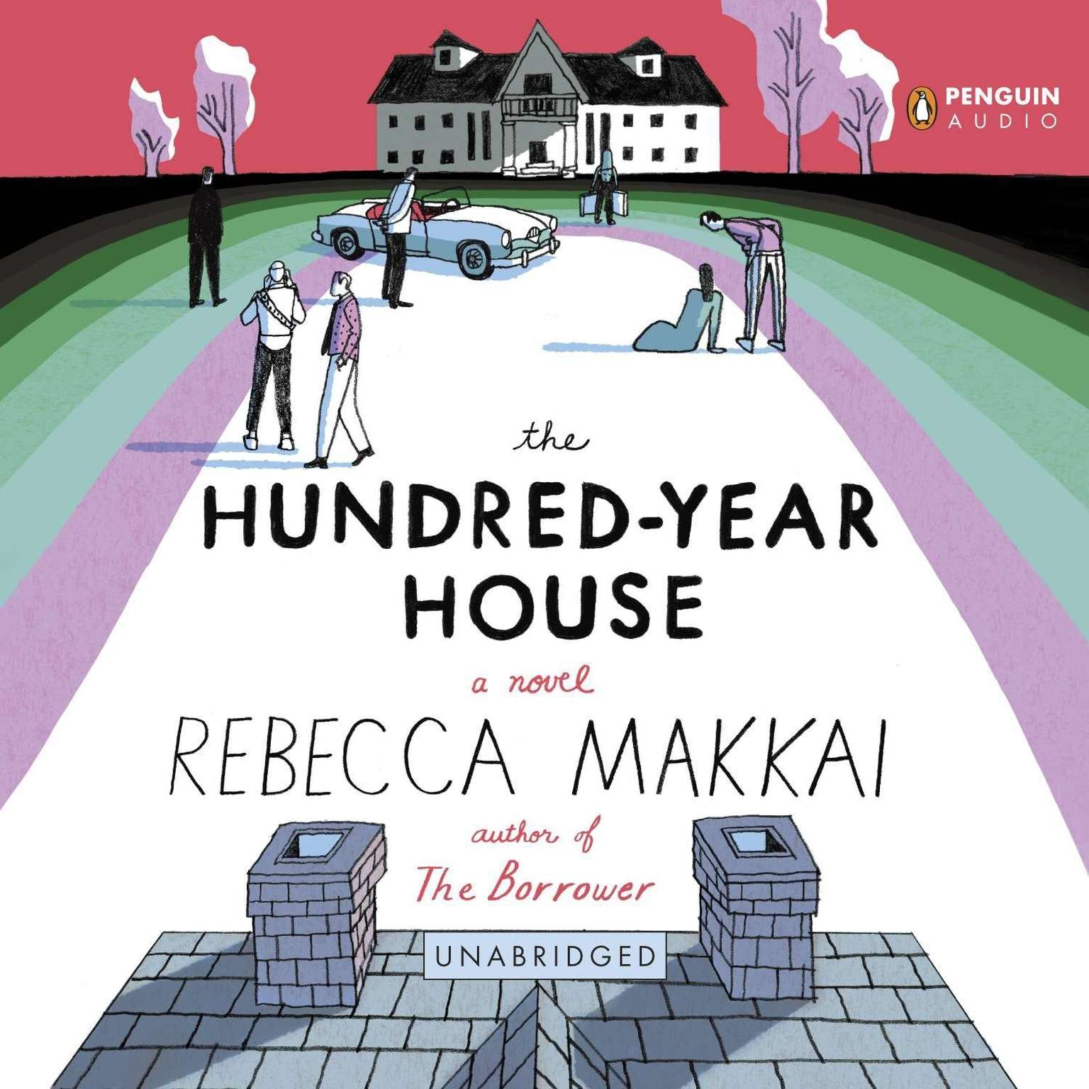 Printable The Hundred-Year House Audiobook Cover Art
