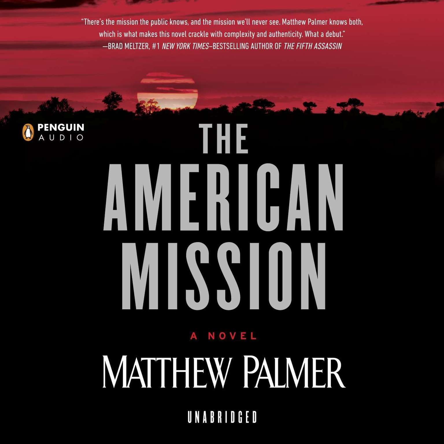 Printable The American Mission Audiobook Cover Art