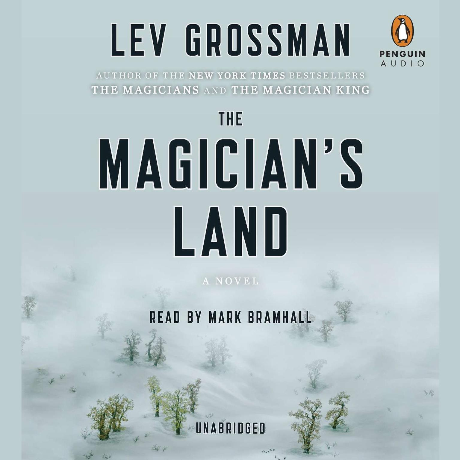 Printable The Magician's Land: A Novel Audiobook Cover Art