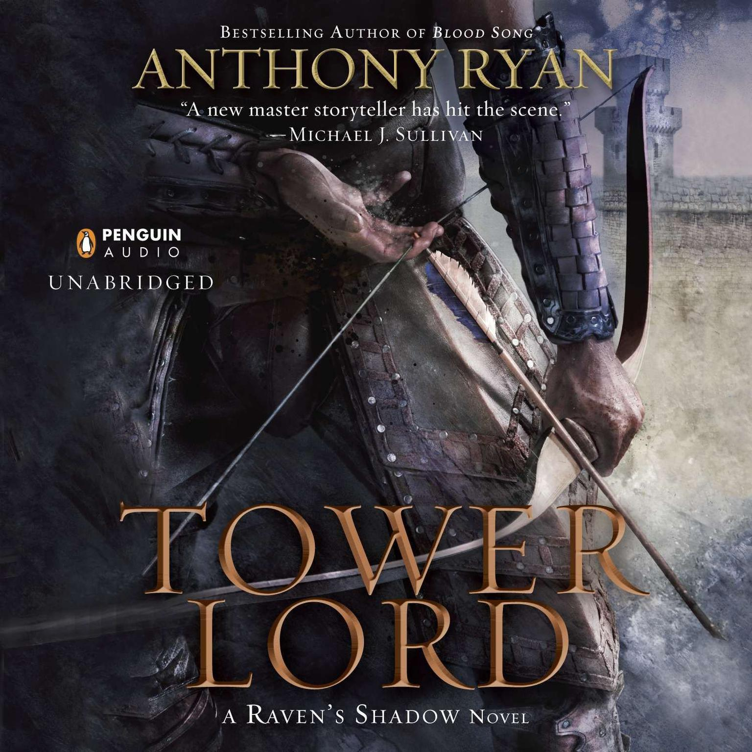 Printable Tower Lord Audiobook Cover Art