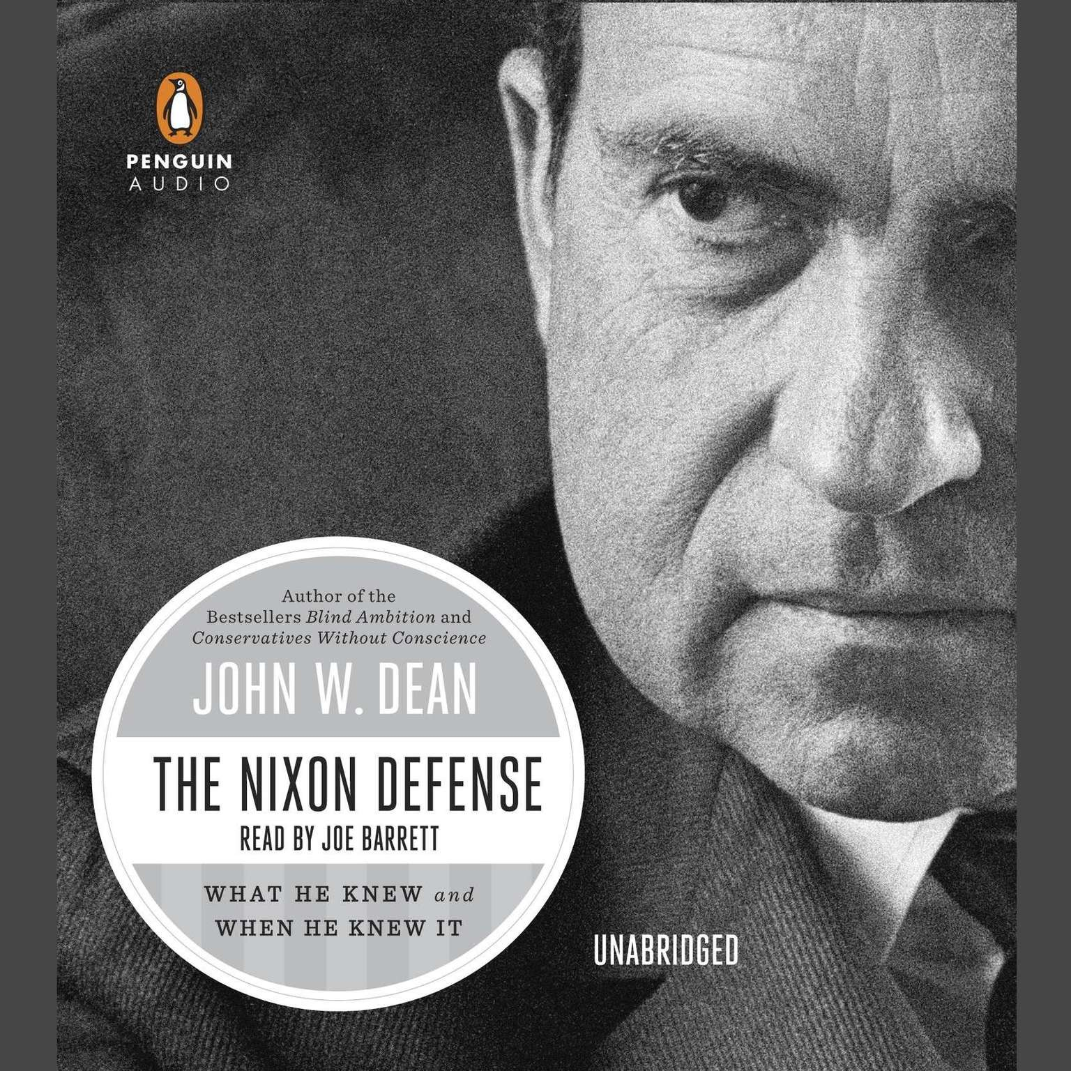 Printable The Nixon Defense: What He Knew and When He Knew It Audiobook Cover Art