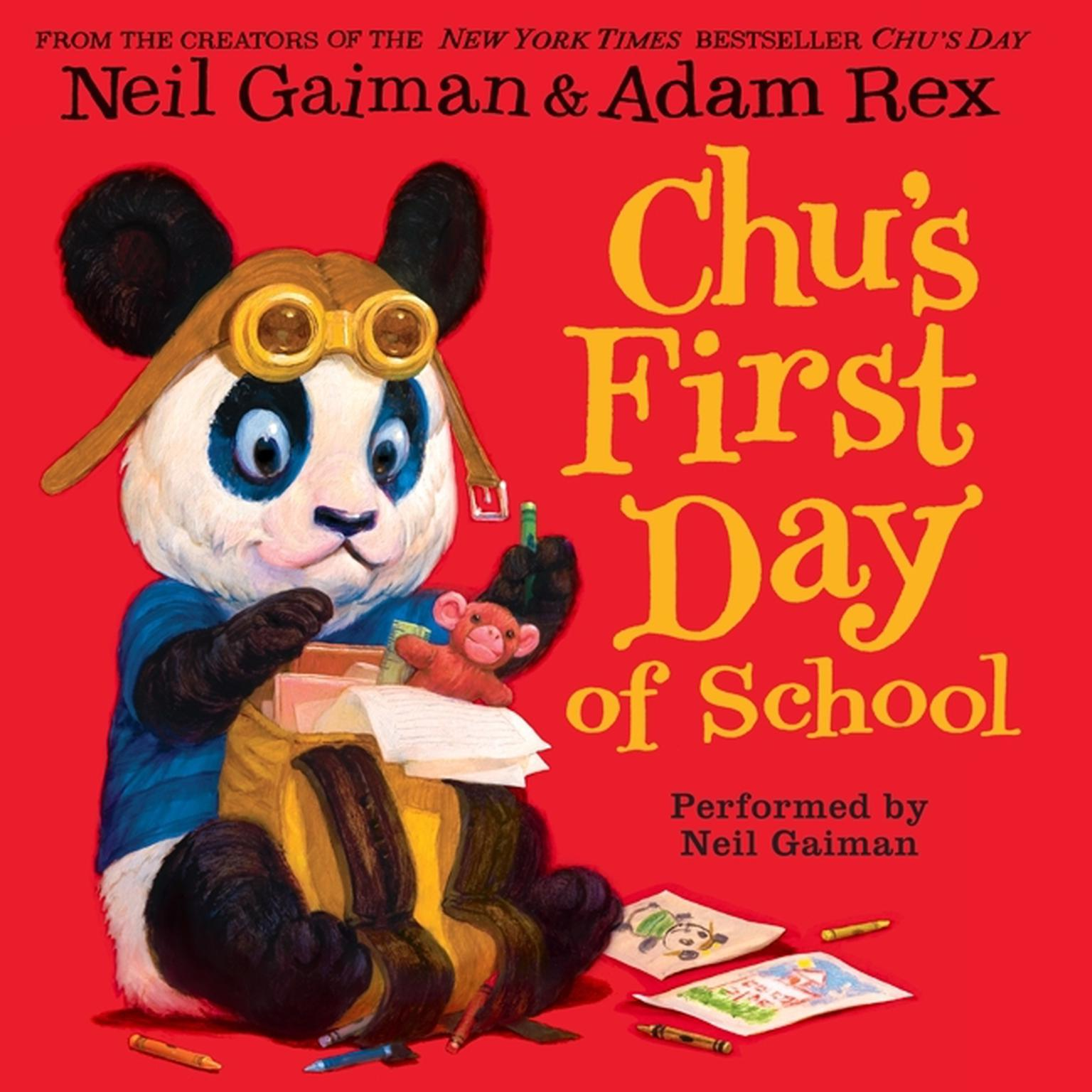 Printable Chu's First Day of School Audiobook Cover Art