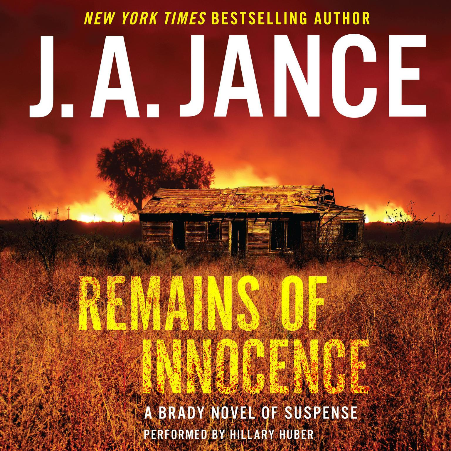 Printable Remains of Innocence: A Brady Novel of Suspense Audiobook Cover Art