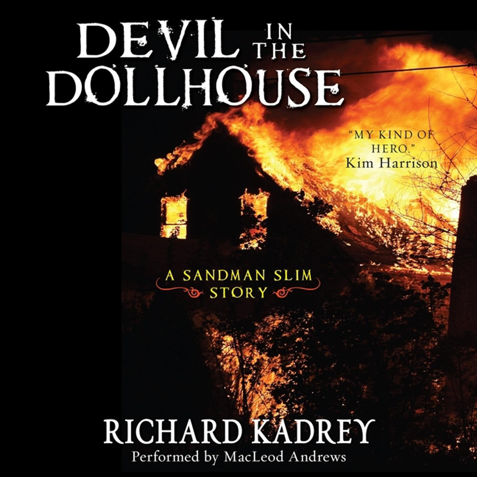 Printable Devil in the Dollhouse: A Sandman Slim Story Audiobook Cover Art
