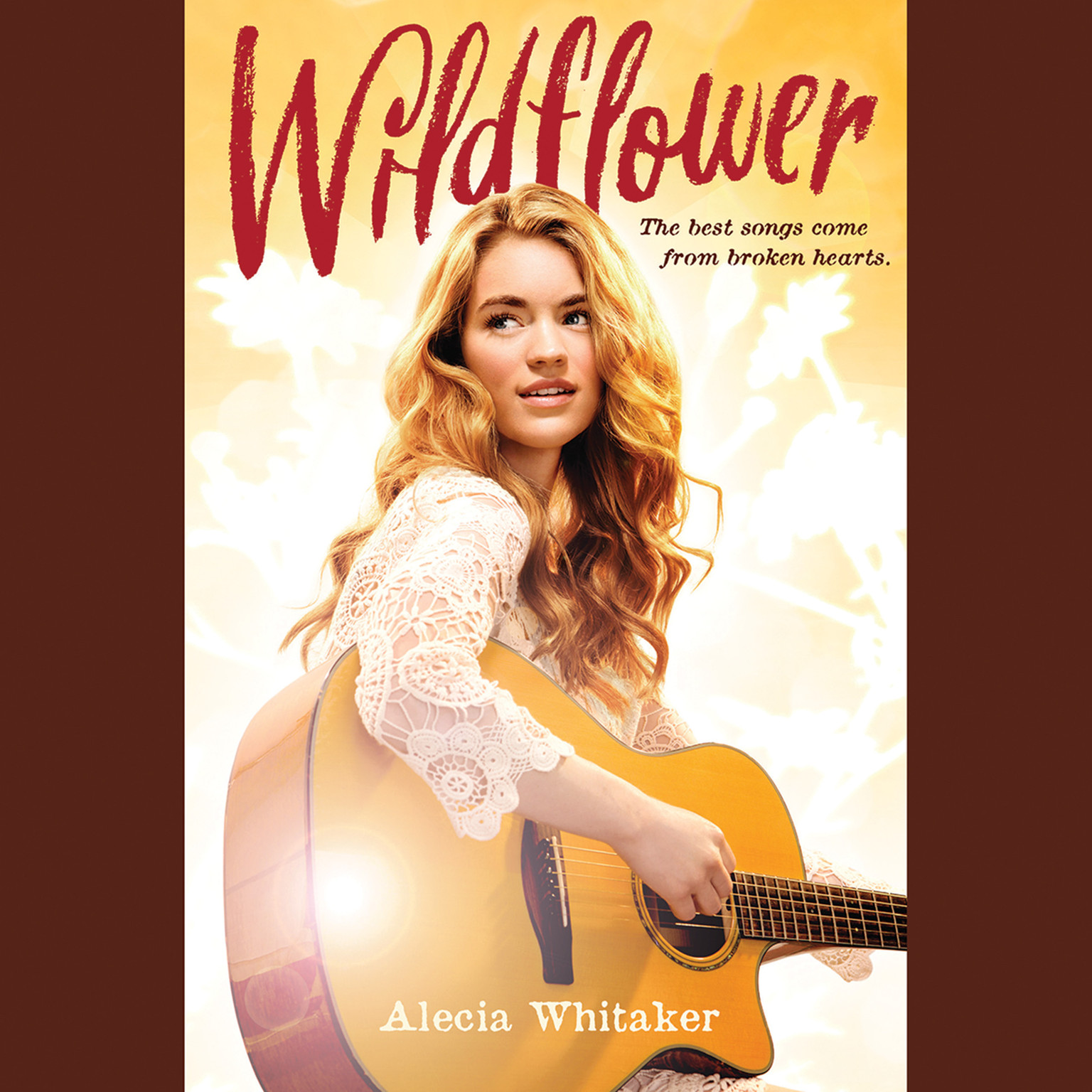 Printable Wildflower Audiobook Cover Art