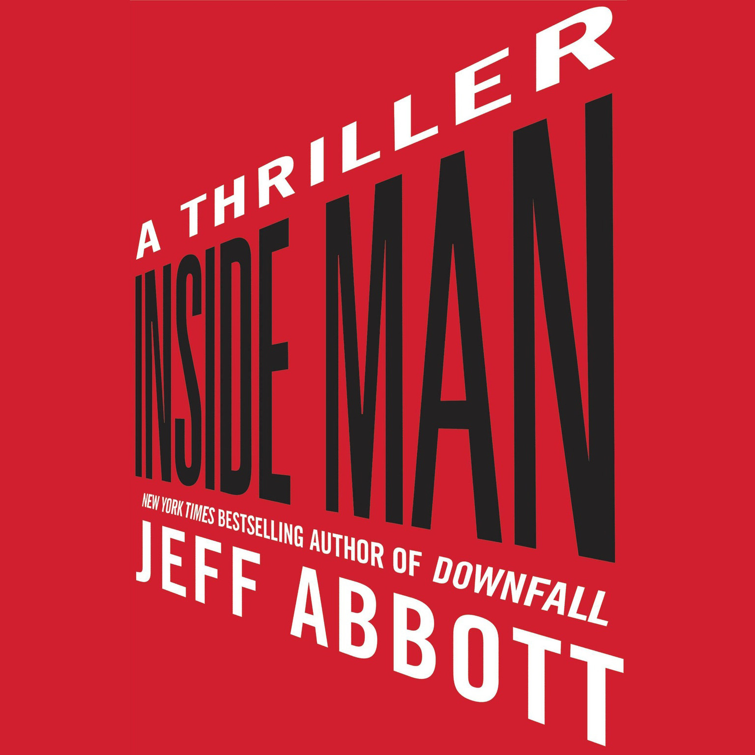 Printable Inside Man Audiobook Cover Art