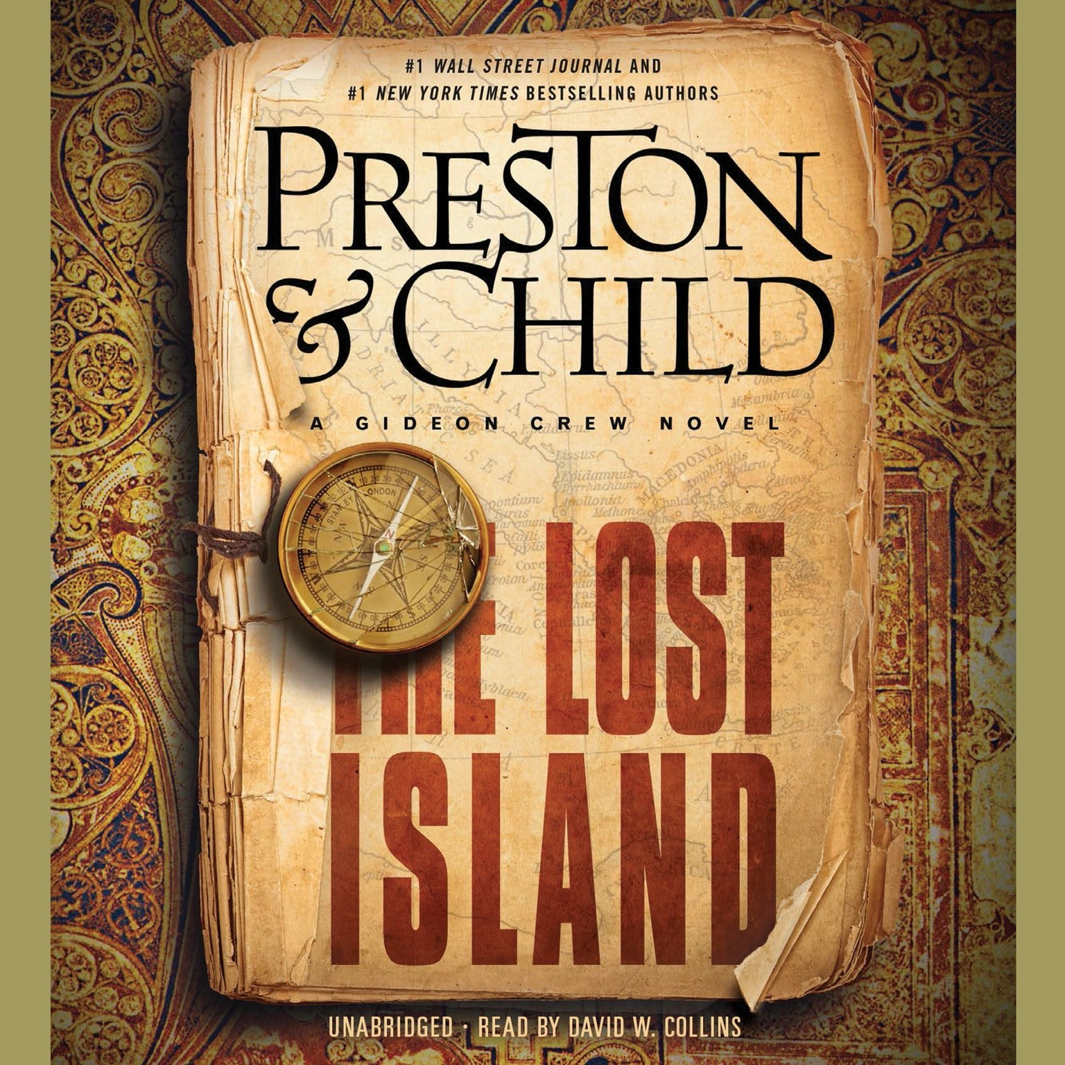 Printable The Lost Island: A Gideon Crew Novel Audiobook Cover Art