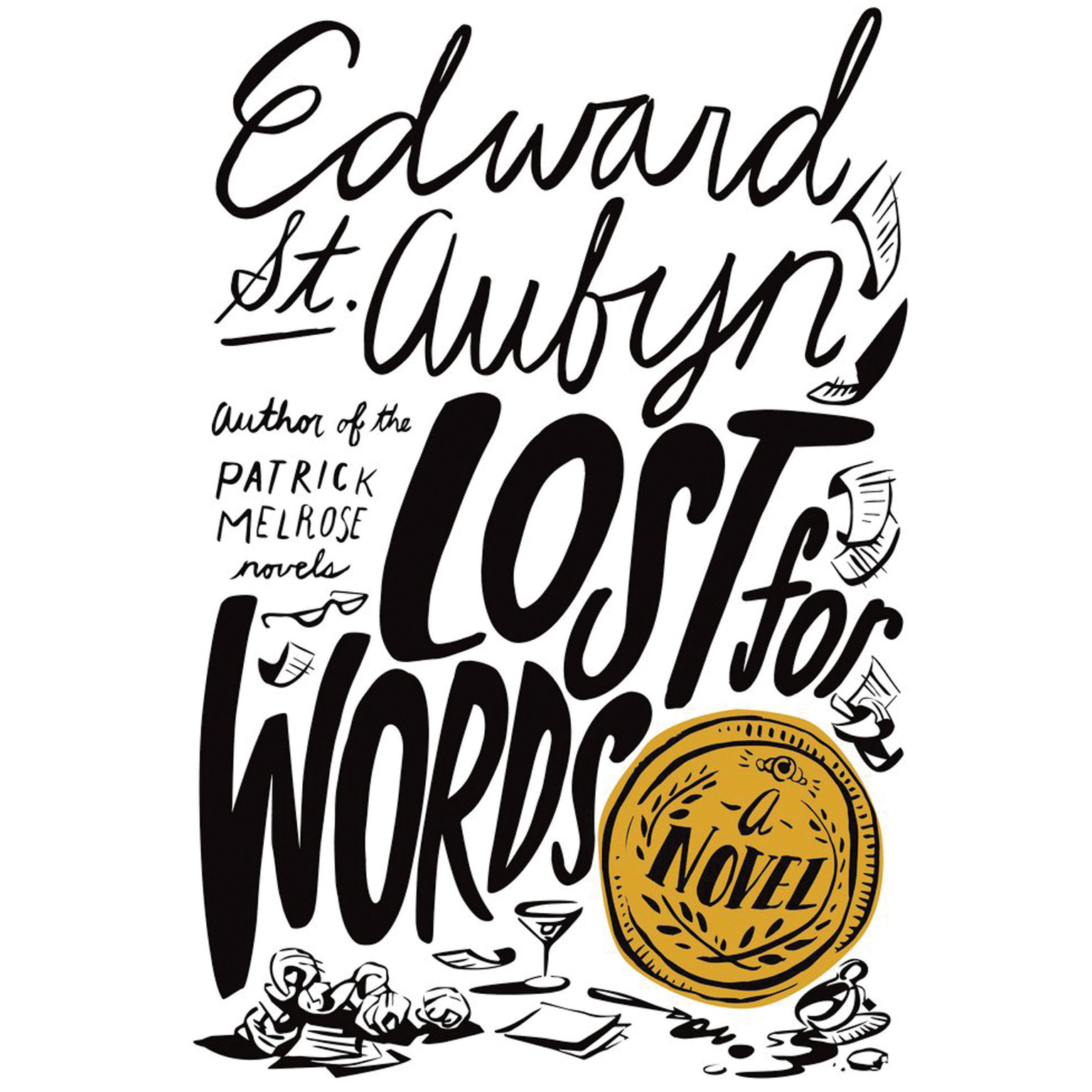 Printable Lost for Words: A Novel Audiobook Cover Art