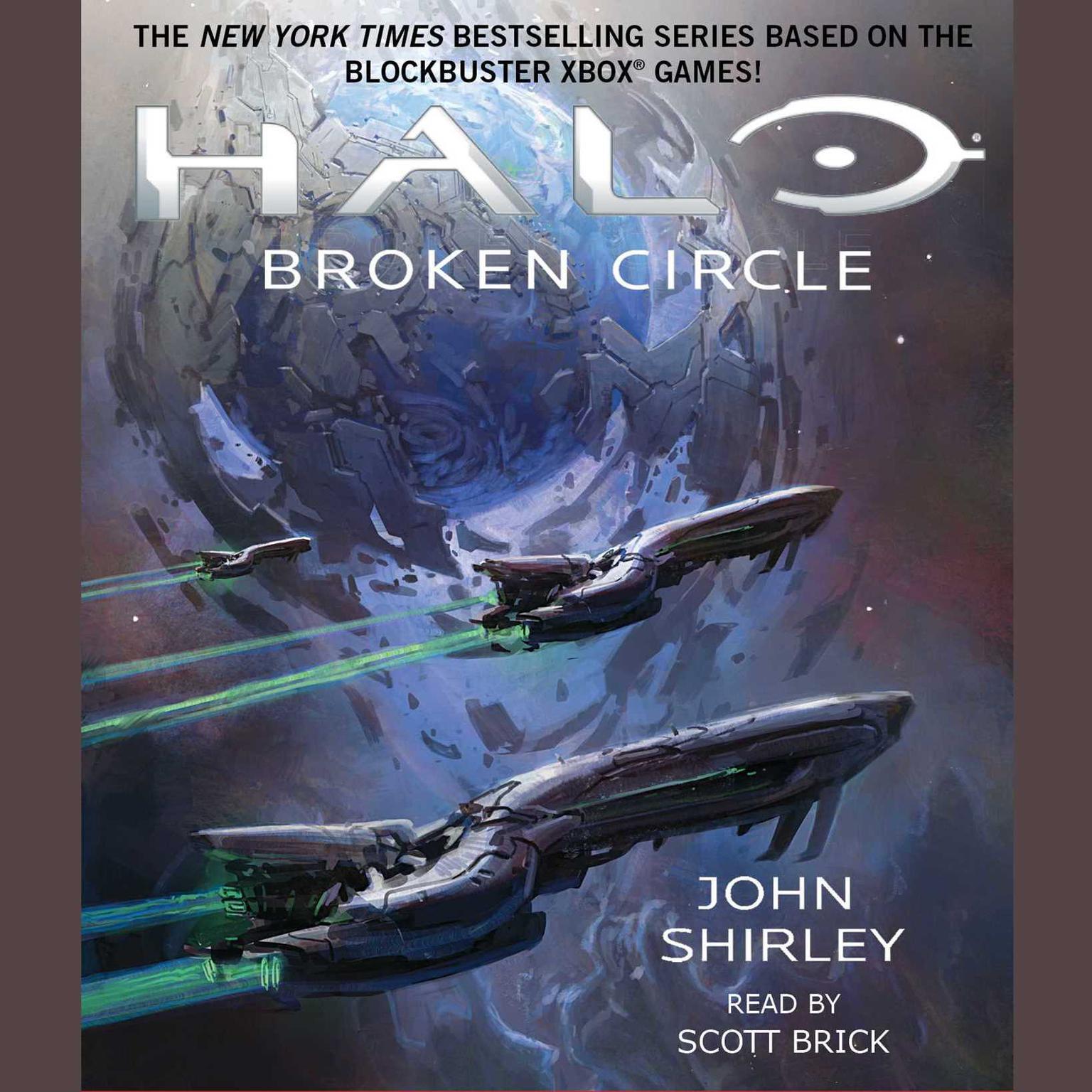 Printable Halo: Broken Circle Audiobook Cover Art