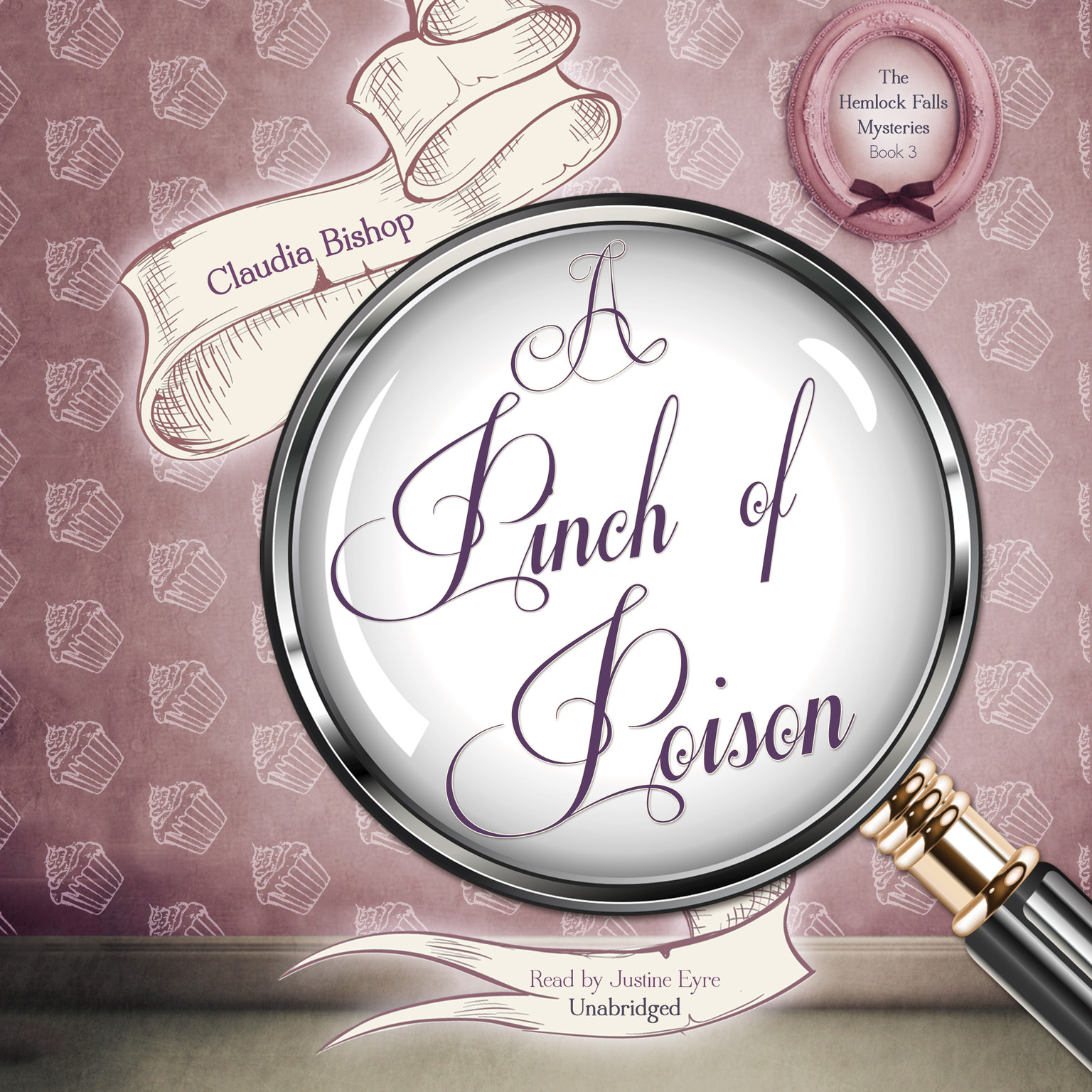 Printable A Pinch of Poison Audiobook Cover Art