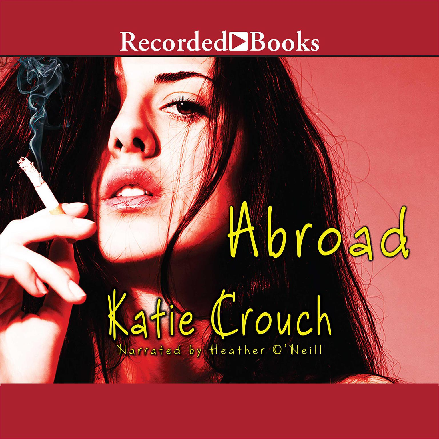 Printable Abroad Audiobook Cover Art