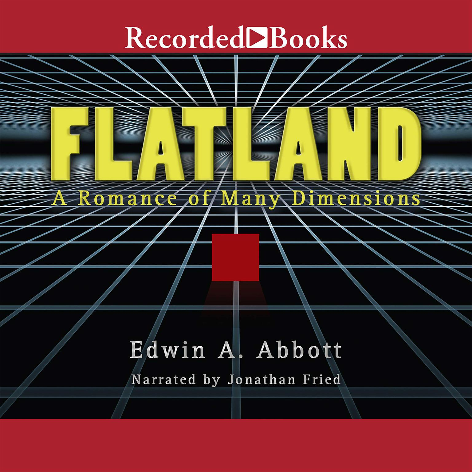 Printable Flatland: A Romance of Many Dimensions  Audiobook Cover Art