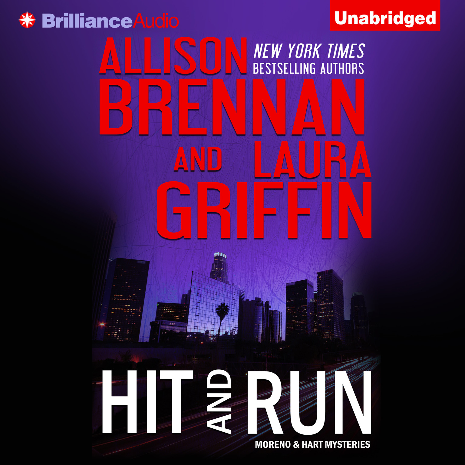 Printable Hit and Run Audiobook Cover Art