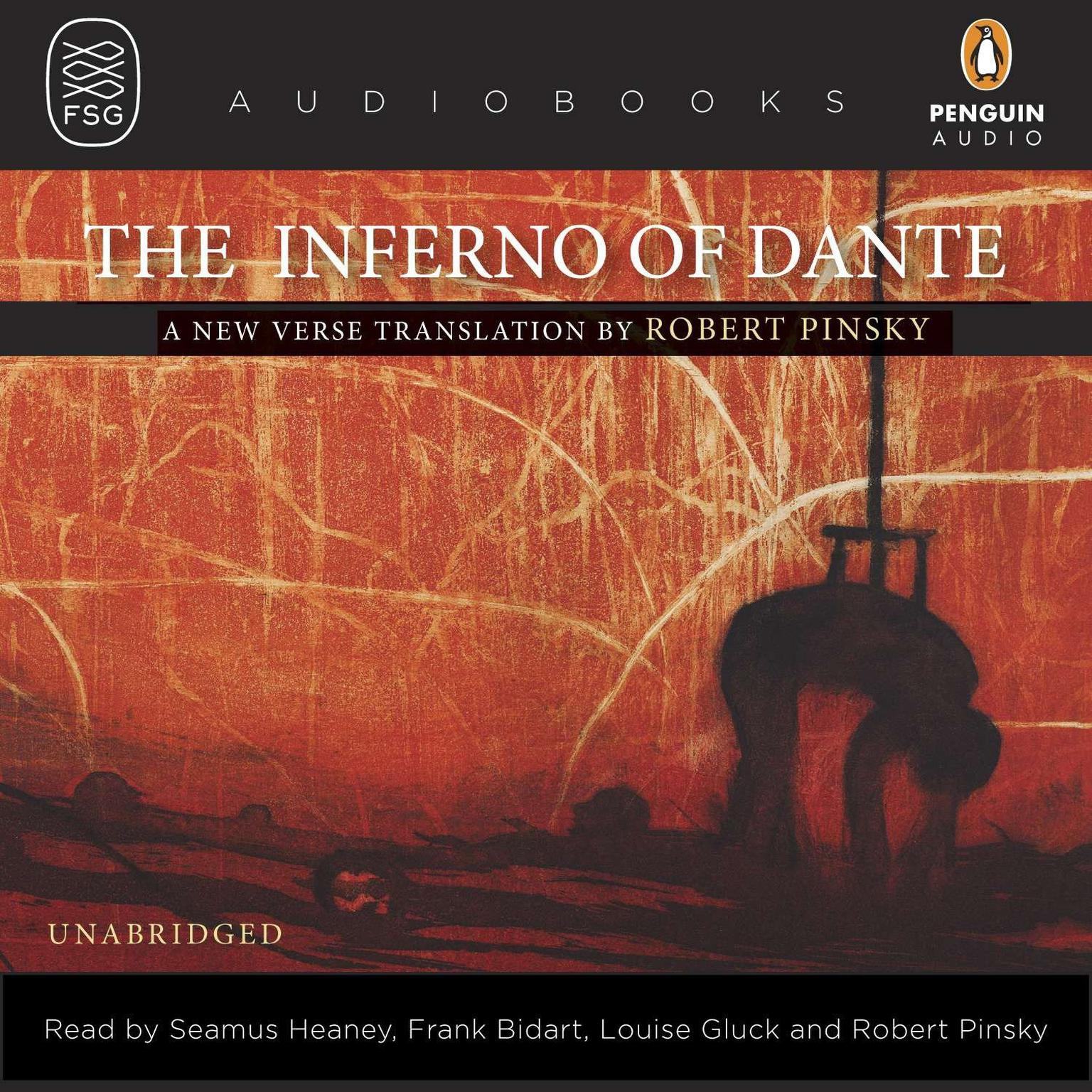 Printable The Inferno of Dante: A New Verse Translation by Robert Pinsky Audiobook Cover Art