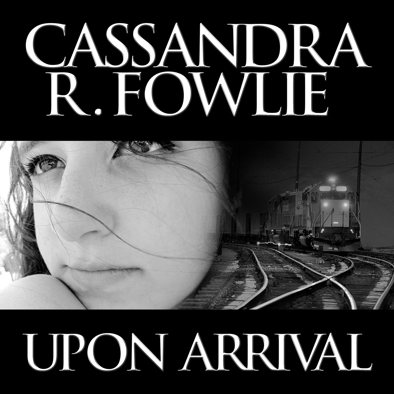 Printable Upon Arrival Audiobook Cover Art