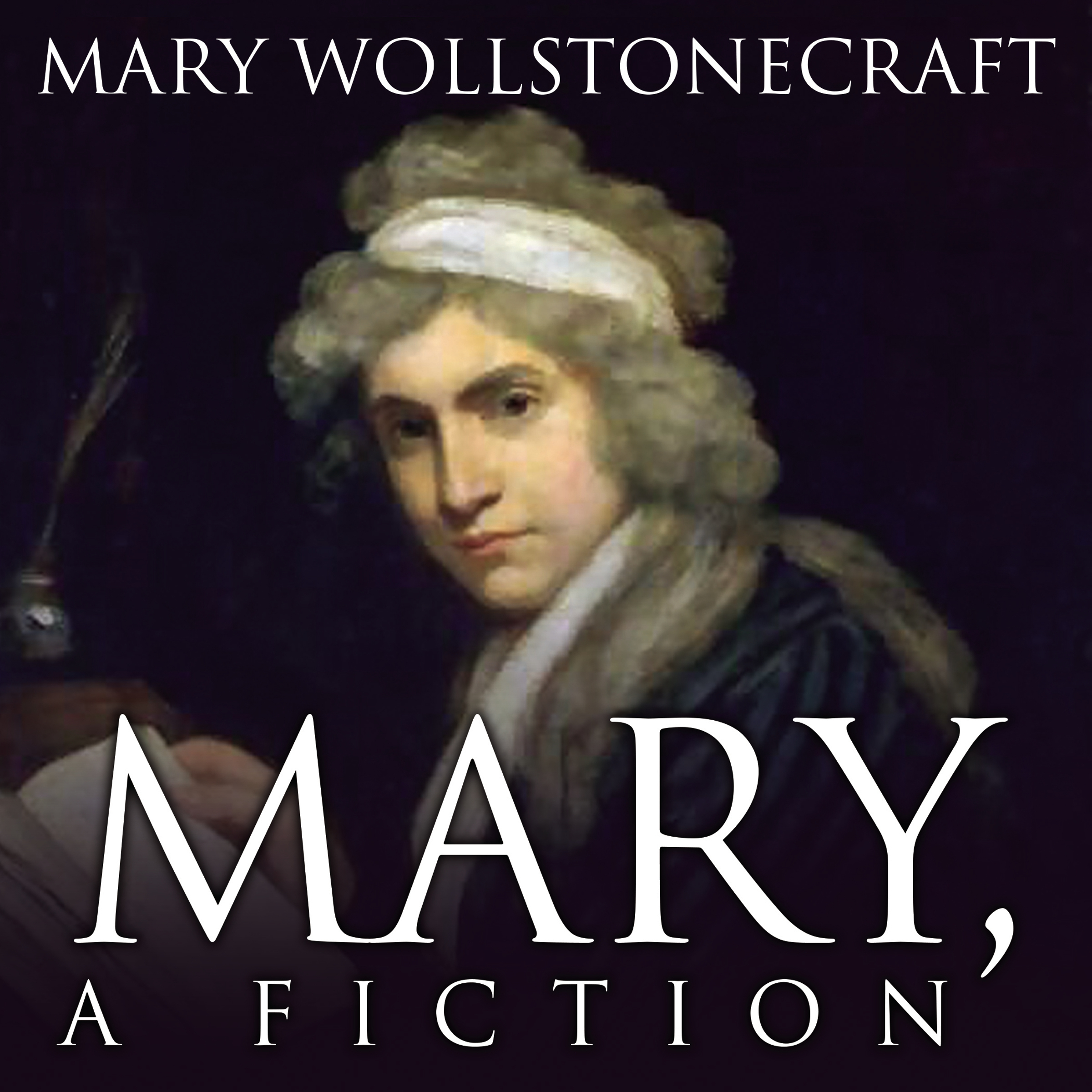 Printable Mary, A Fiction Audiobook Cover Art