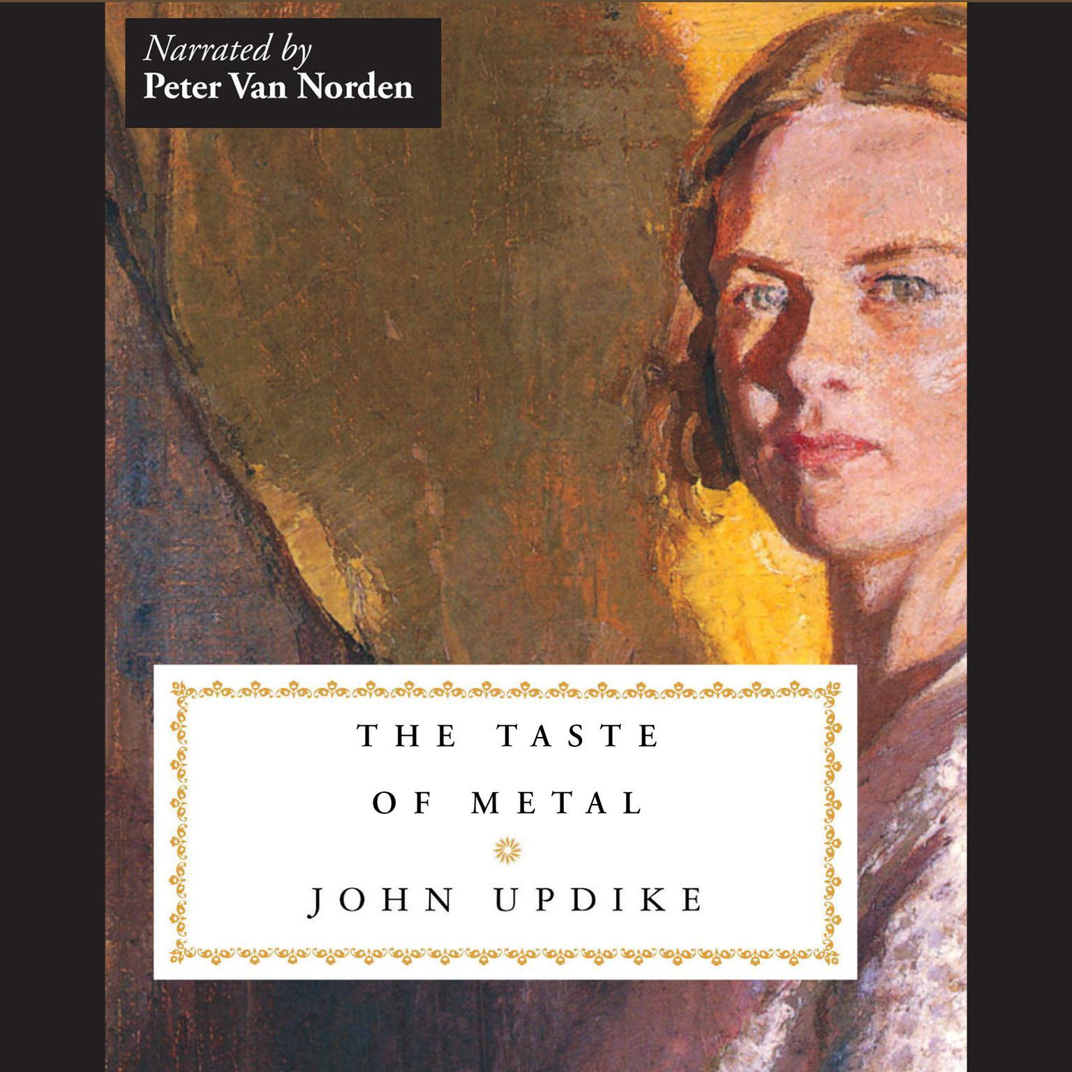 Printable The Taste of Metal Audiobook Cover Art