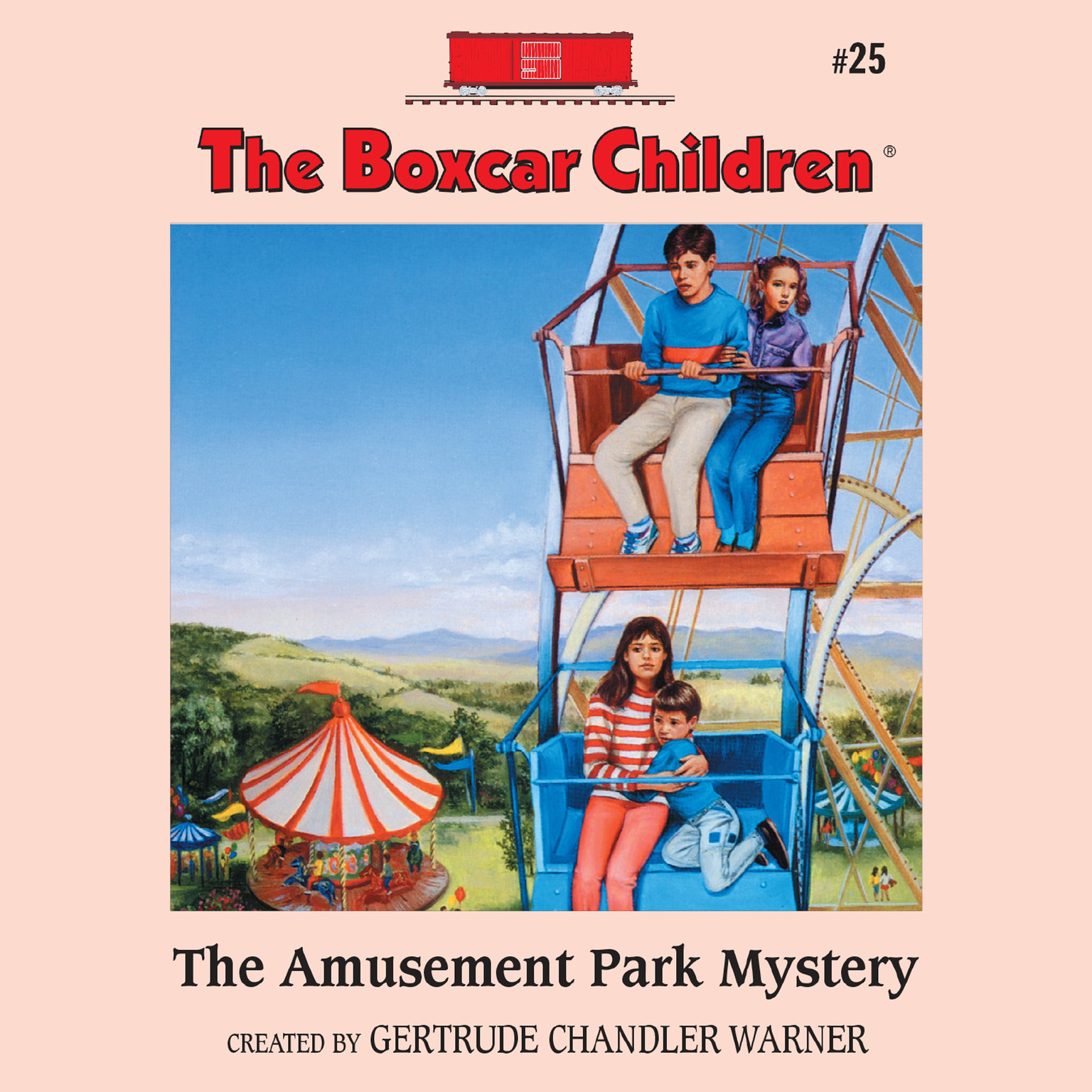 Printable The Amusement Park Mystery Audiobook Cover Art