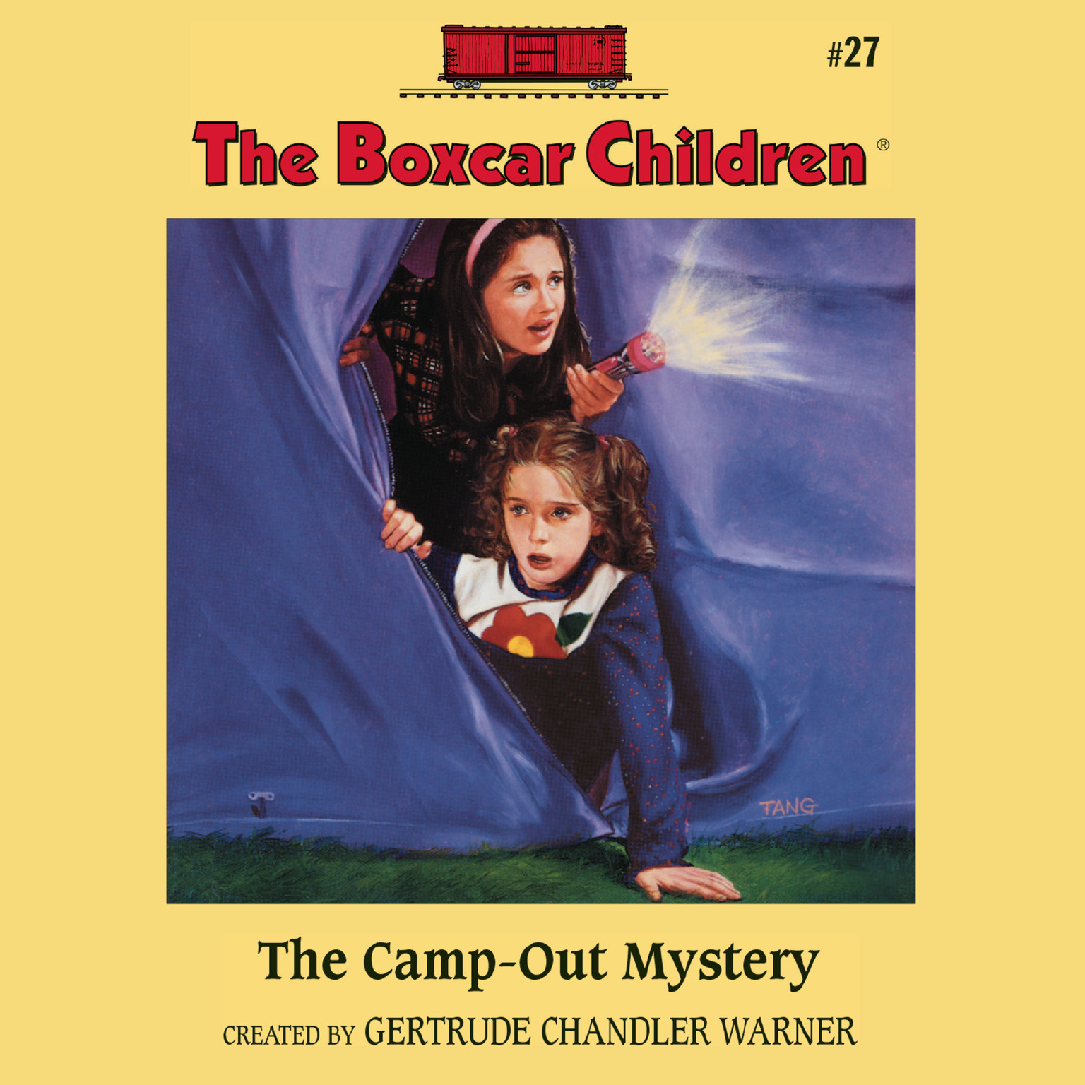 Printable The Camp-Out Mystery Audiobook Cover Art