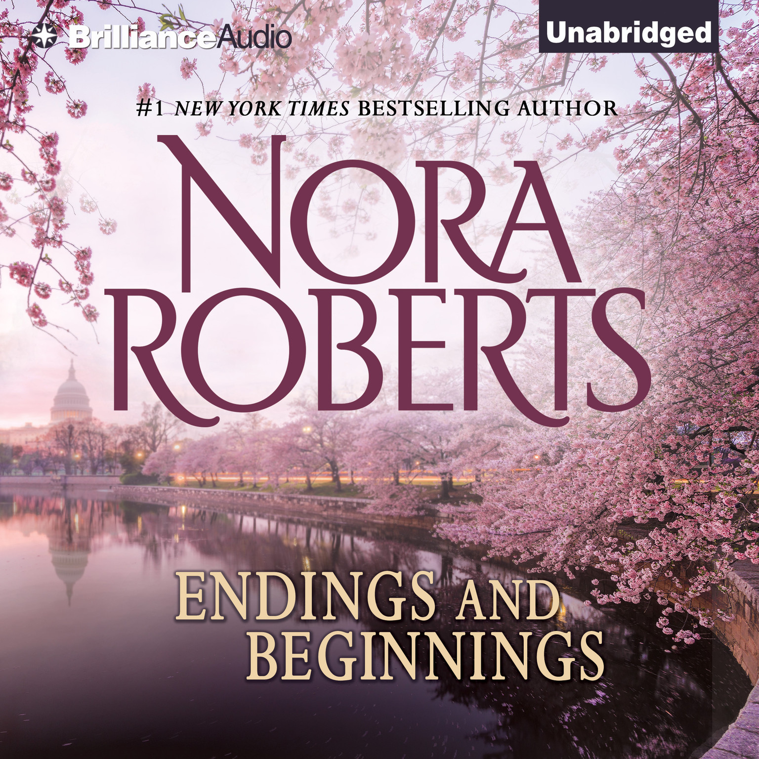 Printable Endings and Beginnings Audiobook Cover Art
