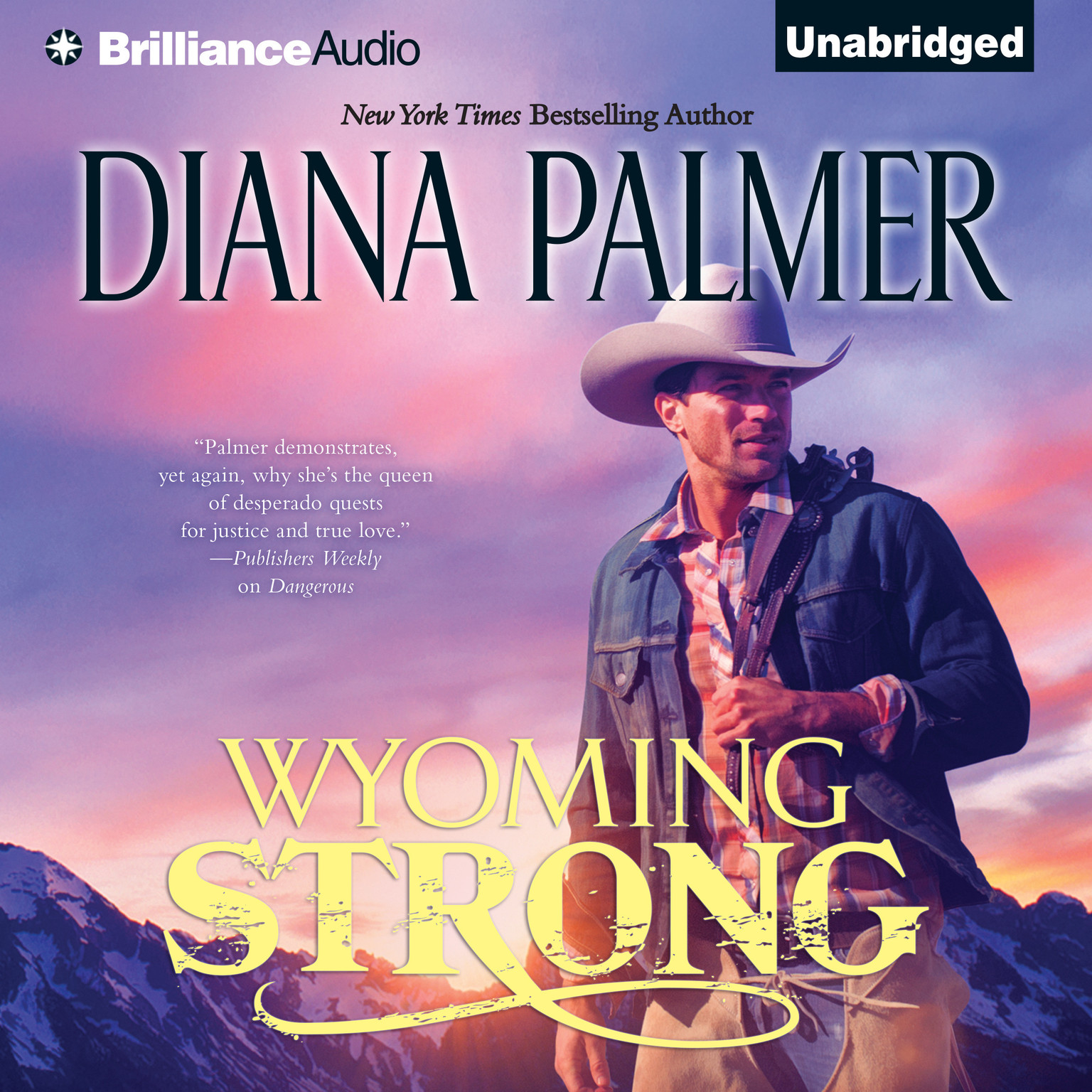 Printable Wyoming Strong Audiobook Cover Art