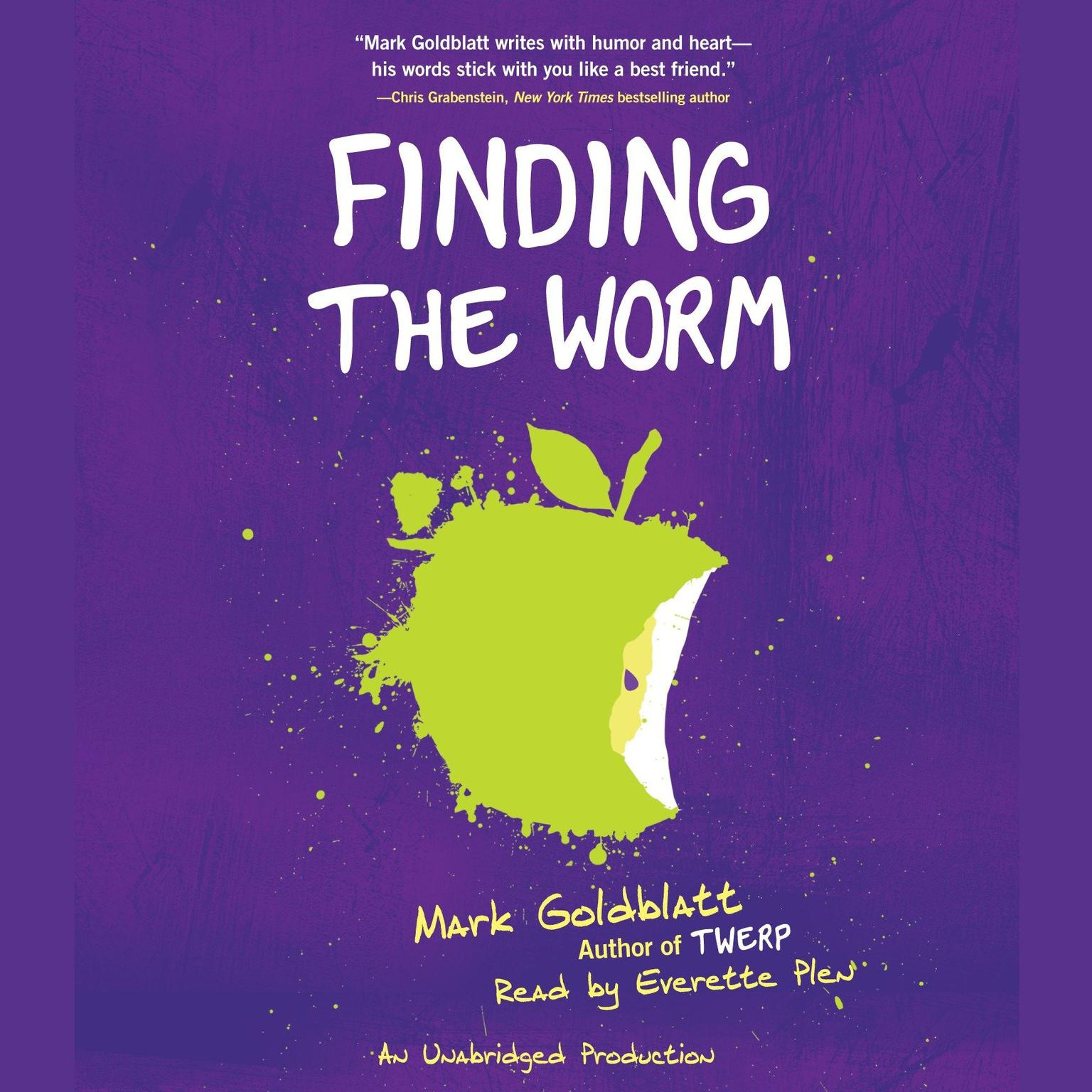 Printable Finding the Worm Audiobook Cover Art