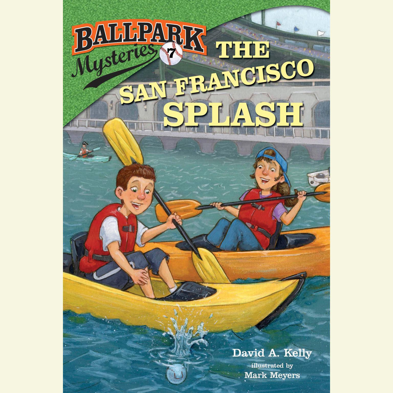 Printable Ballpark Mysteries #7: The San Francisco Splash Audiobook Cover Art