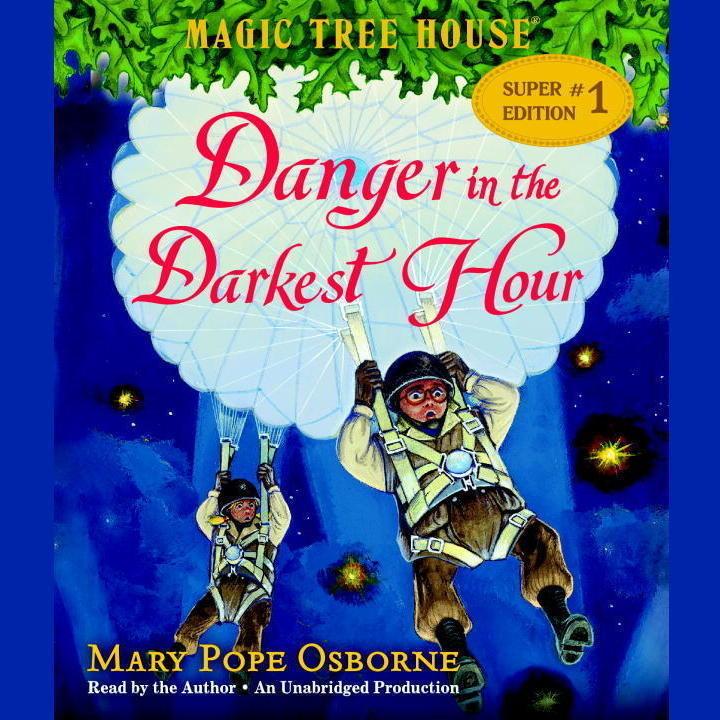 Printable Danger in the Darkest Hour Audiobook Cover Art
