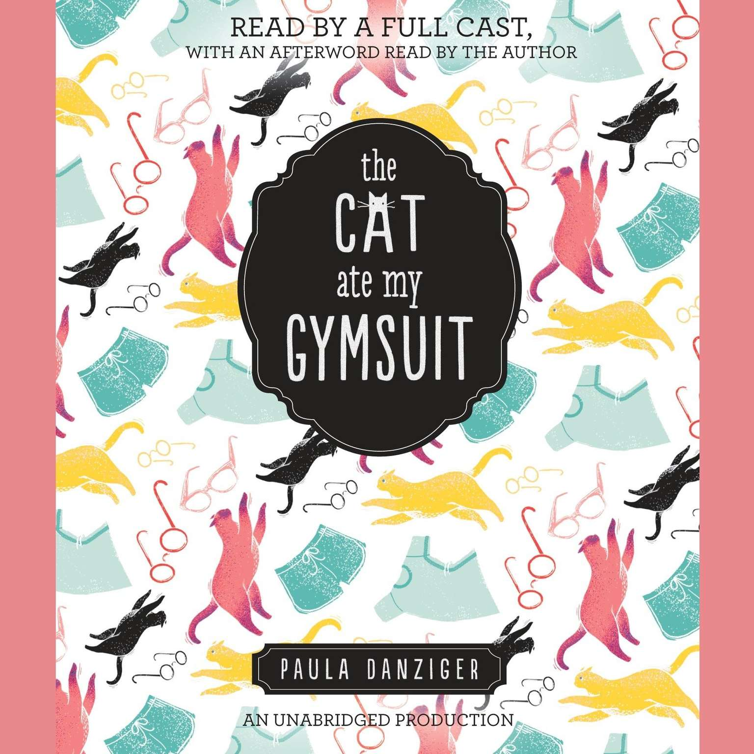 Printable The Cat Ate My Gymsuit Audiobook Cover Art