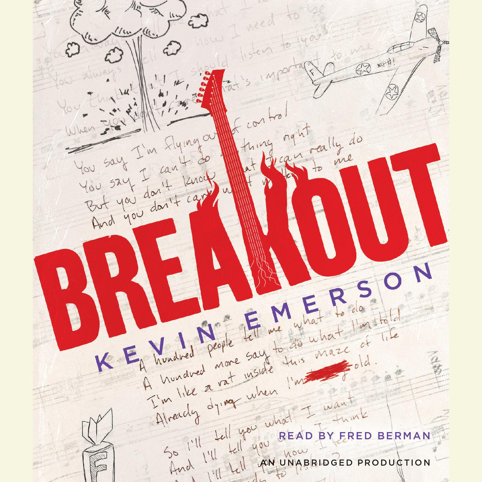 Printable Breakout Audiobook Cover Art