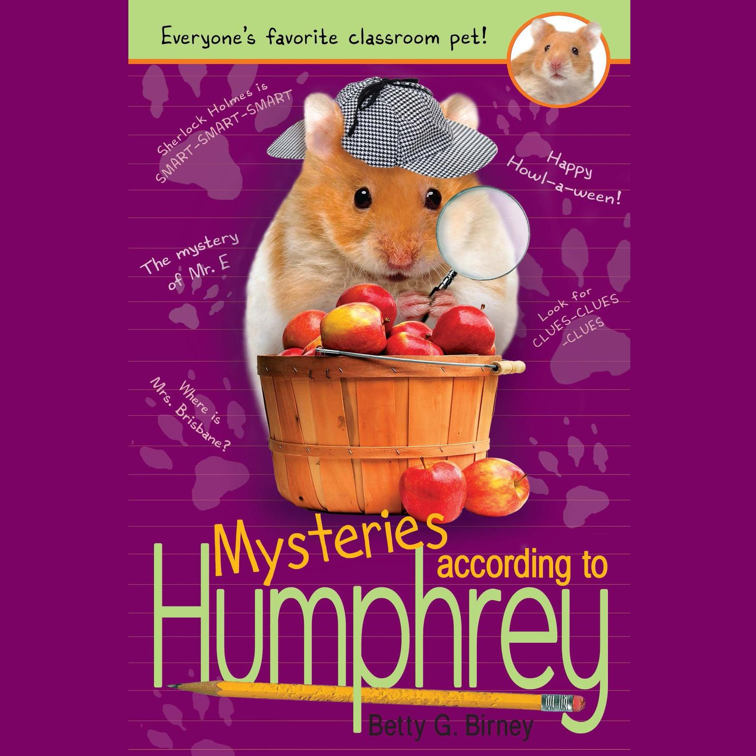 Printable Mysteries According to Humphrey Audiobook Cover Art