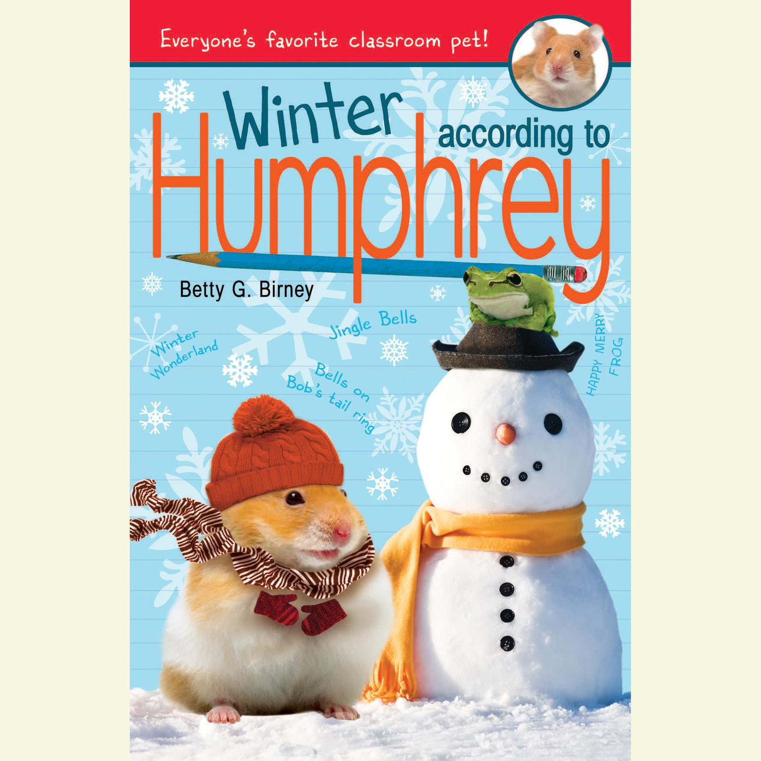 Printable Winter According to Humphrey Audiobook Cover Art