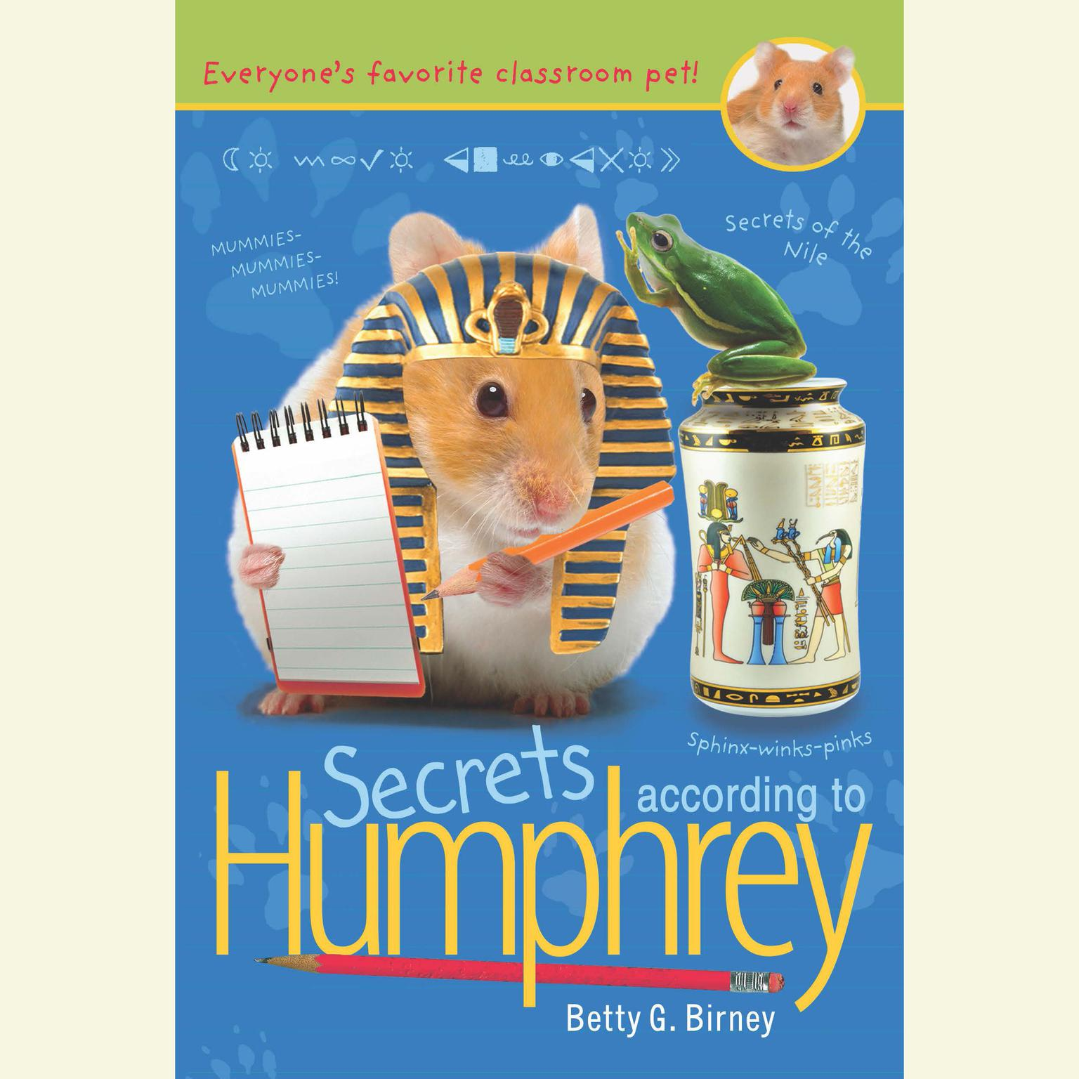 Printable Secrets According to Humphrey Audiobook Cover Art