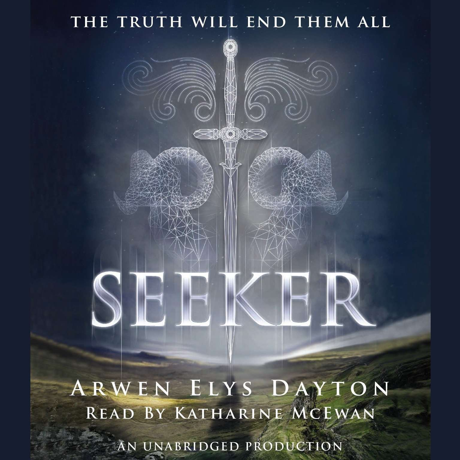Printable Seeker Audiobook Cover Art