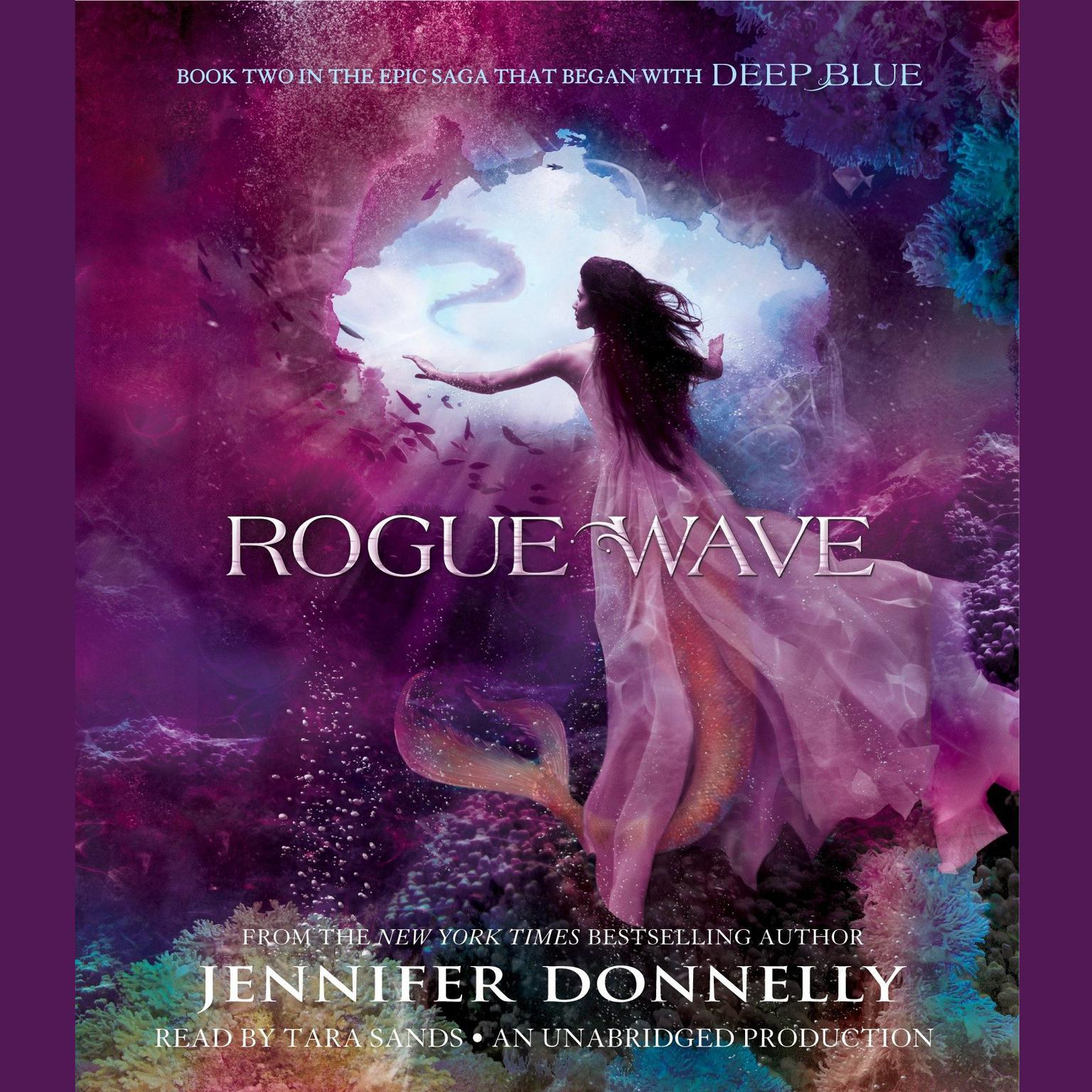 Printable Rogue Wave Audiobook Cover Art