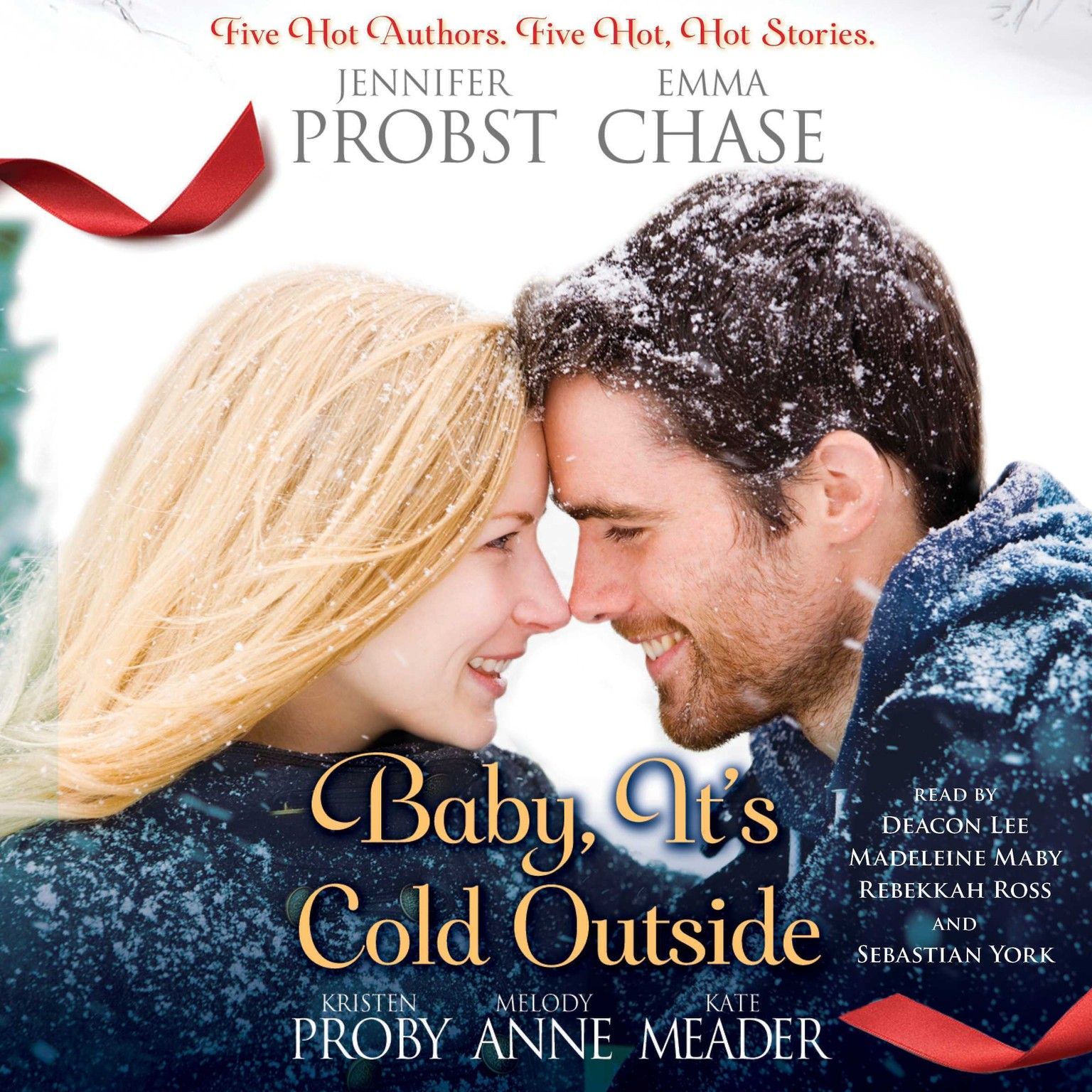 Printable Baby, It's Cold Outside Audiobook Cover Art