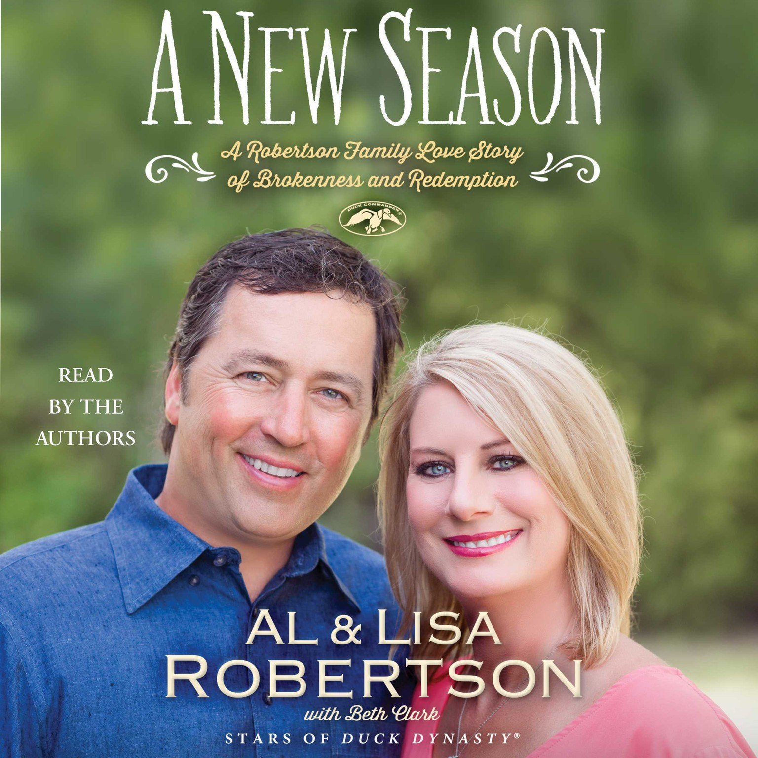 Printable A New Season: A Robertson Family Love sTory of Brokenness and Redemption Audiobook Cover Art