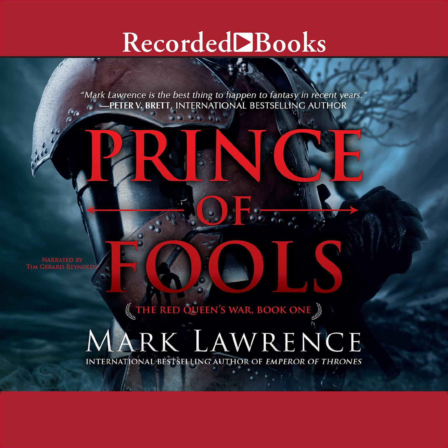 Printable Prince of Fools Audiobook Cover Art