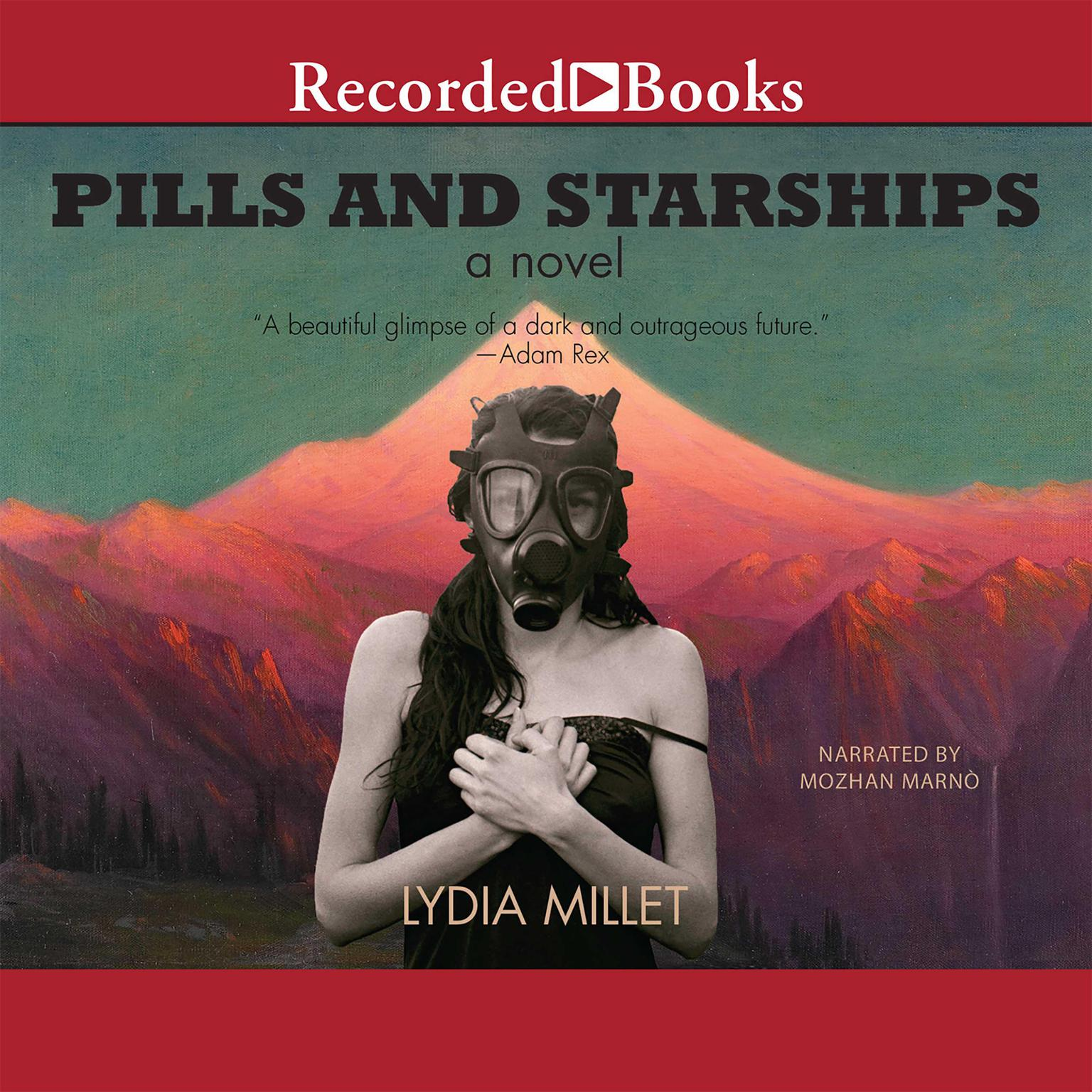 Printable Pills and Starships Audiobook Cover Art