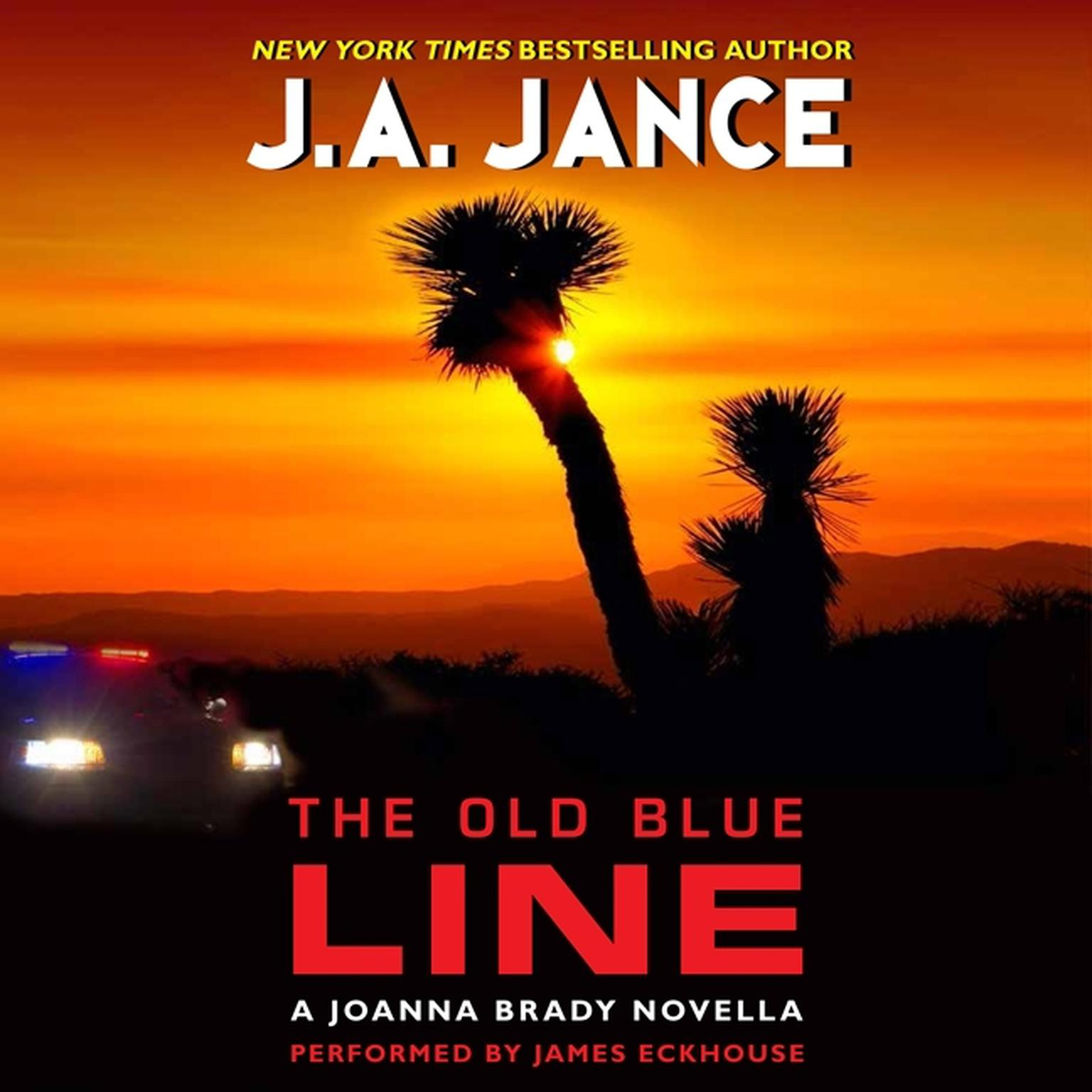 Printable The Old Blue Line: A Joanna Brady Novella Audiobook Cover Art