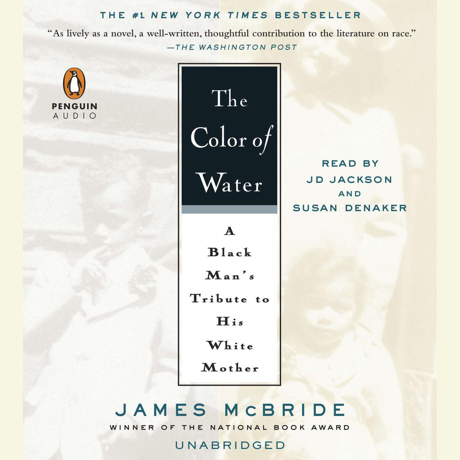 Printable The Color of Water: A Black Man's Tribute to His White Mother Audiobook Cover Art