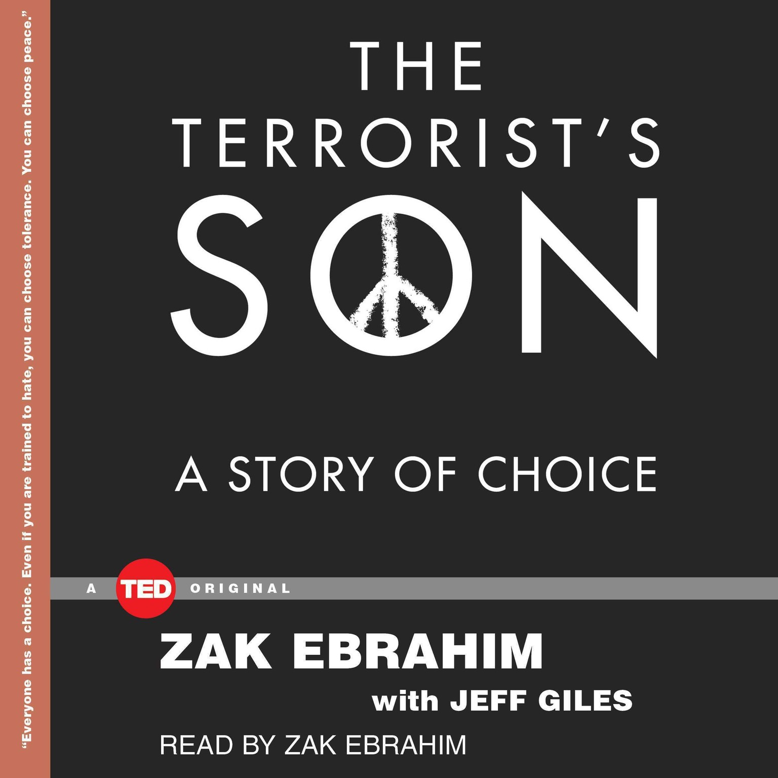 Printable The Terrorist's Son: A Story of Choice Audiobook Cover Art