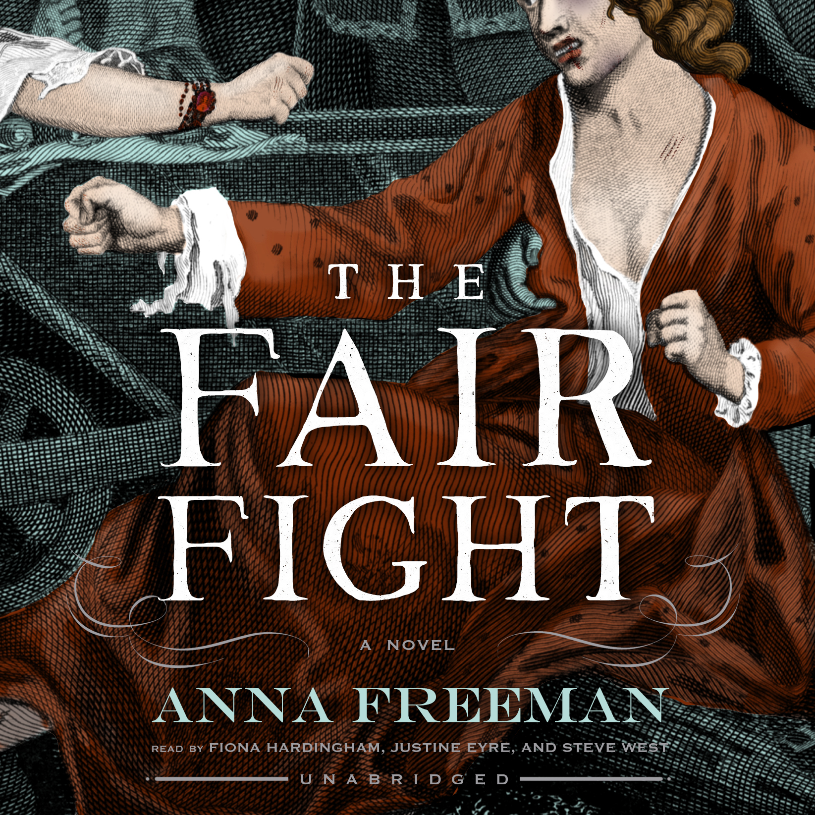 Printable The Fair Fight Audiobook Cover Art