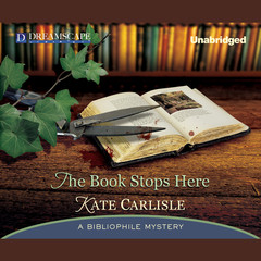 The Book Stops Here Audiobook, by Kate Carlisle