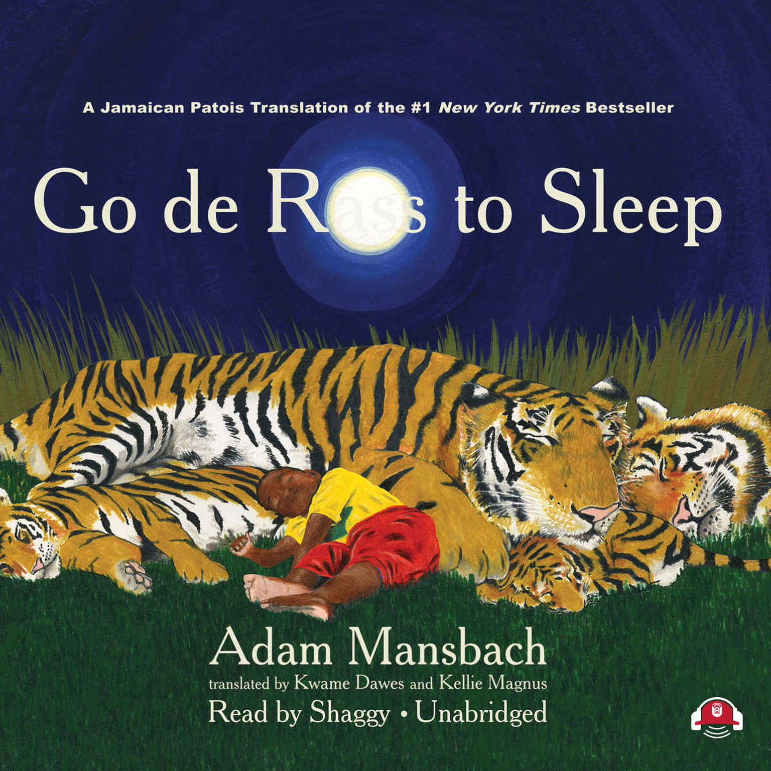 Printable Go de Rass to Sleep (A Jamaican Translation) Audiobook Cover Art